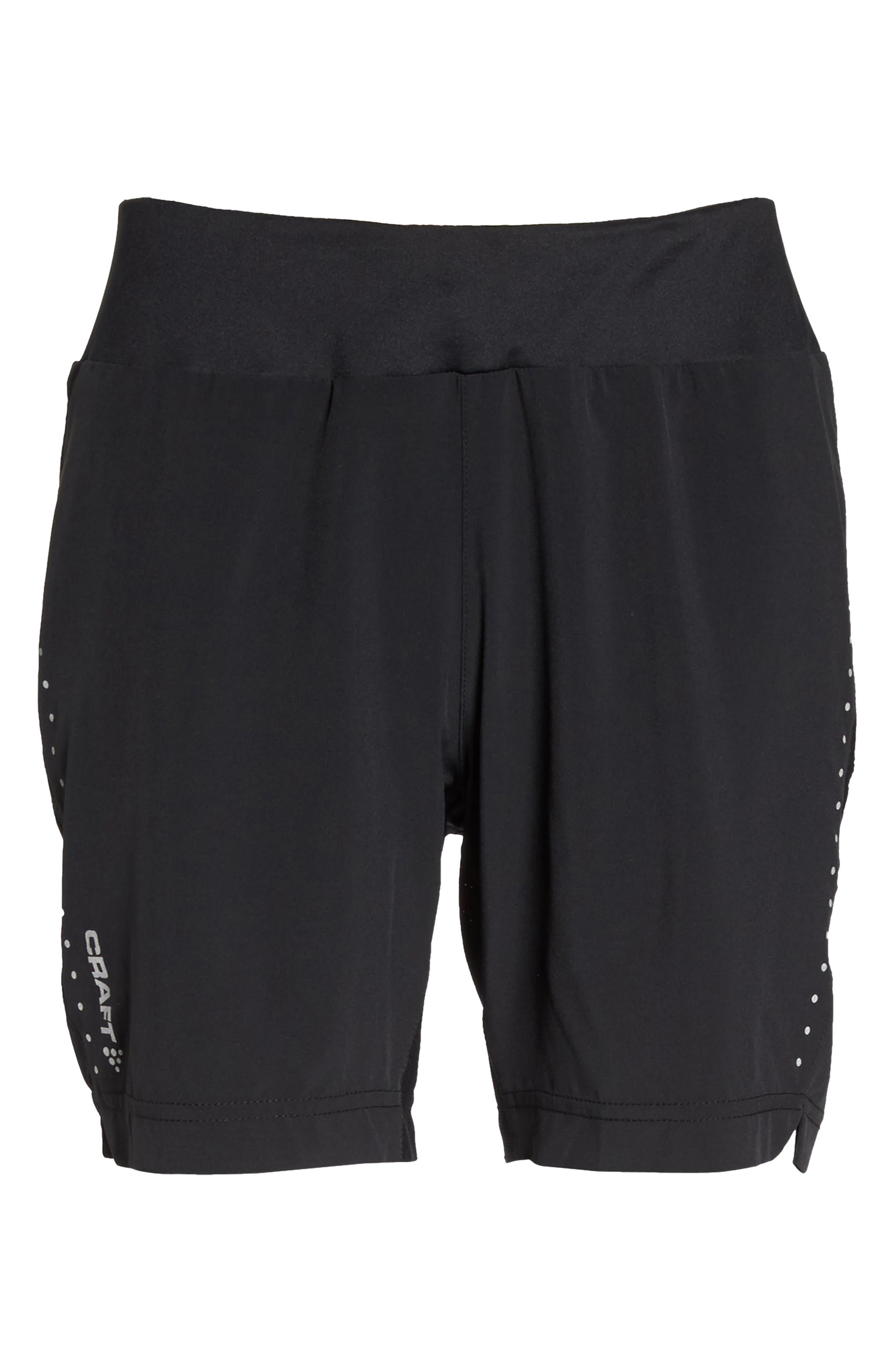 Essential Shorts,                             Alternate thumbnail 7, color,                             Black