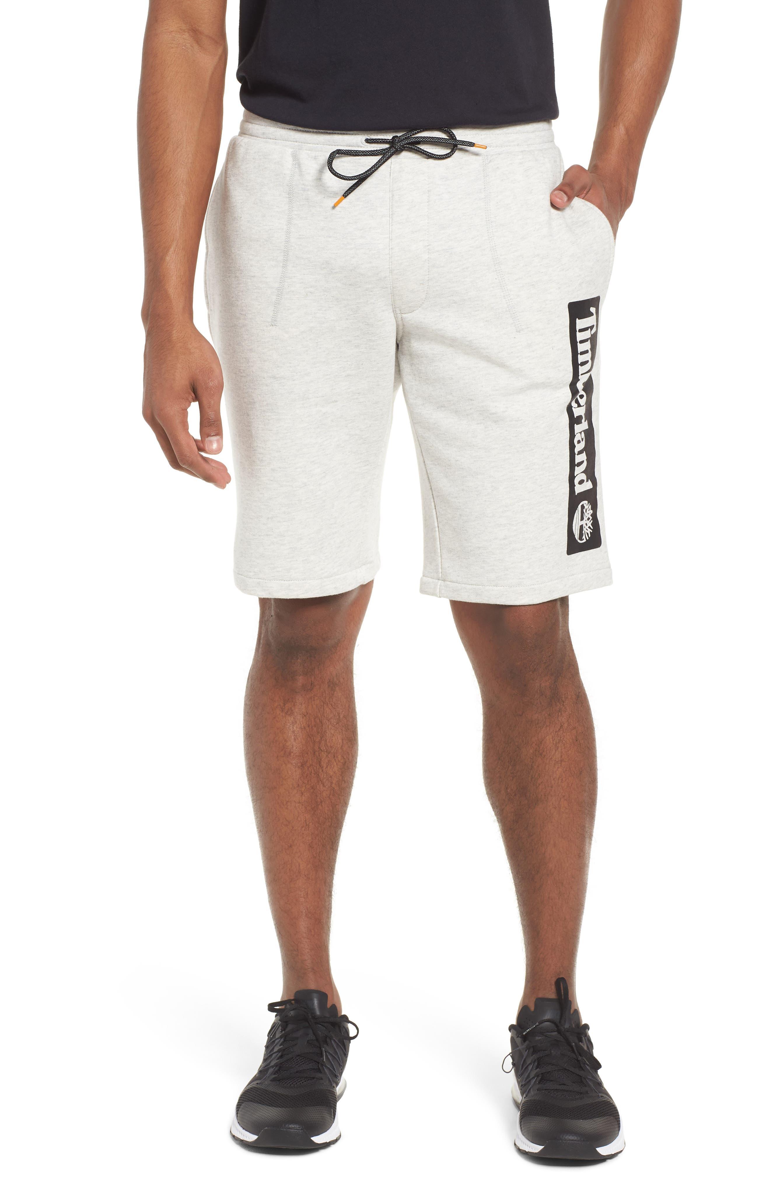 Main Image - Timberland Logo Jogger Shorts