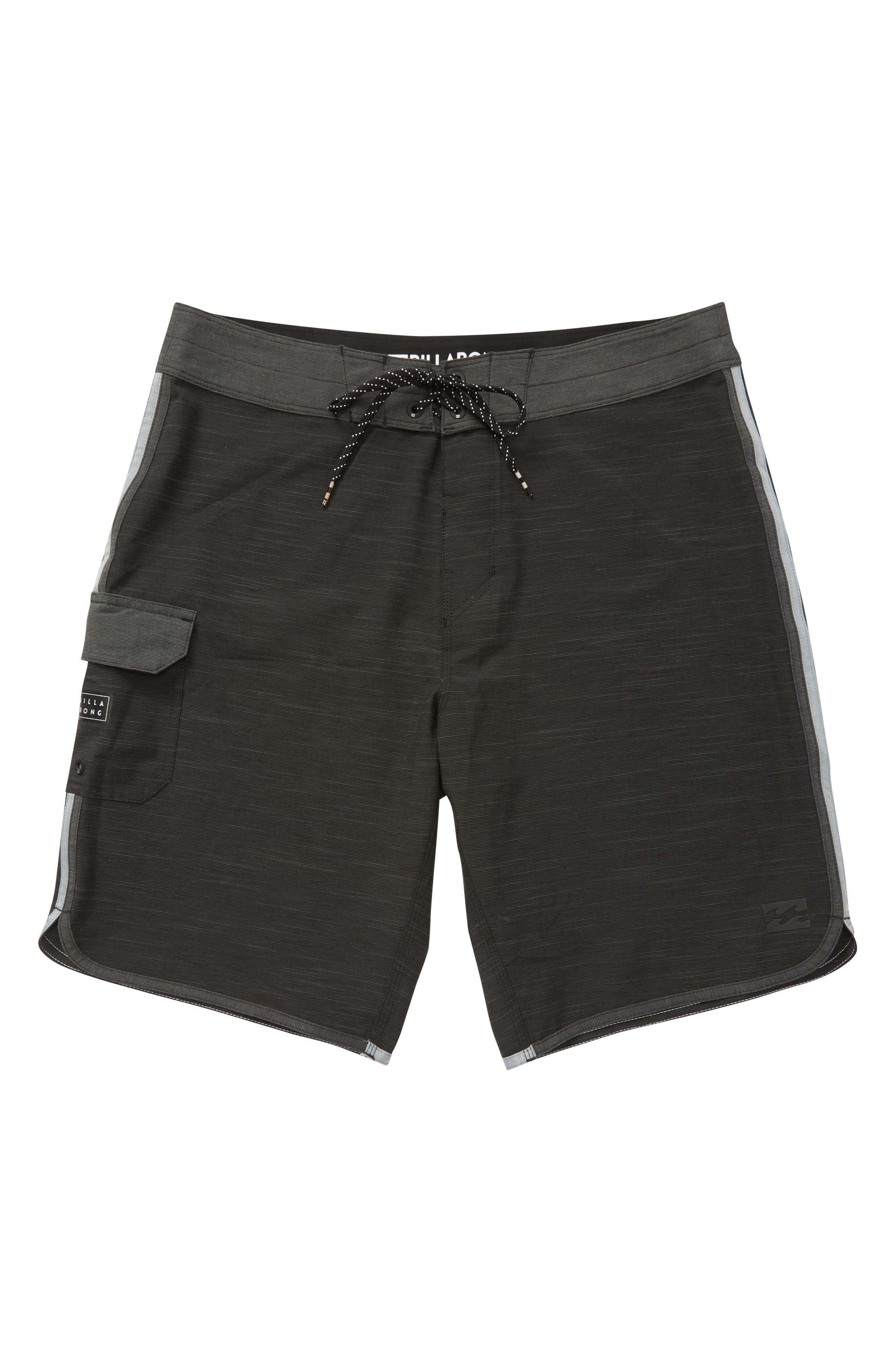 73 X Board Shorts,                             Main thumbnail 1, color,                             Black