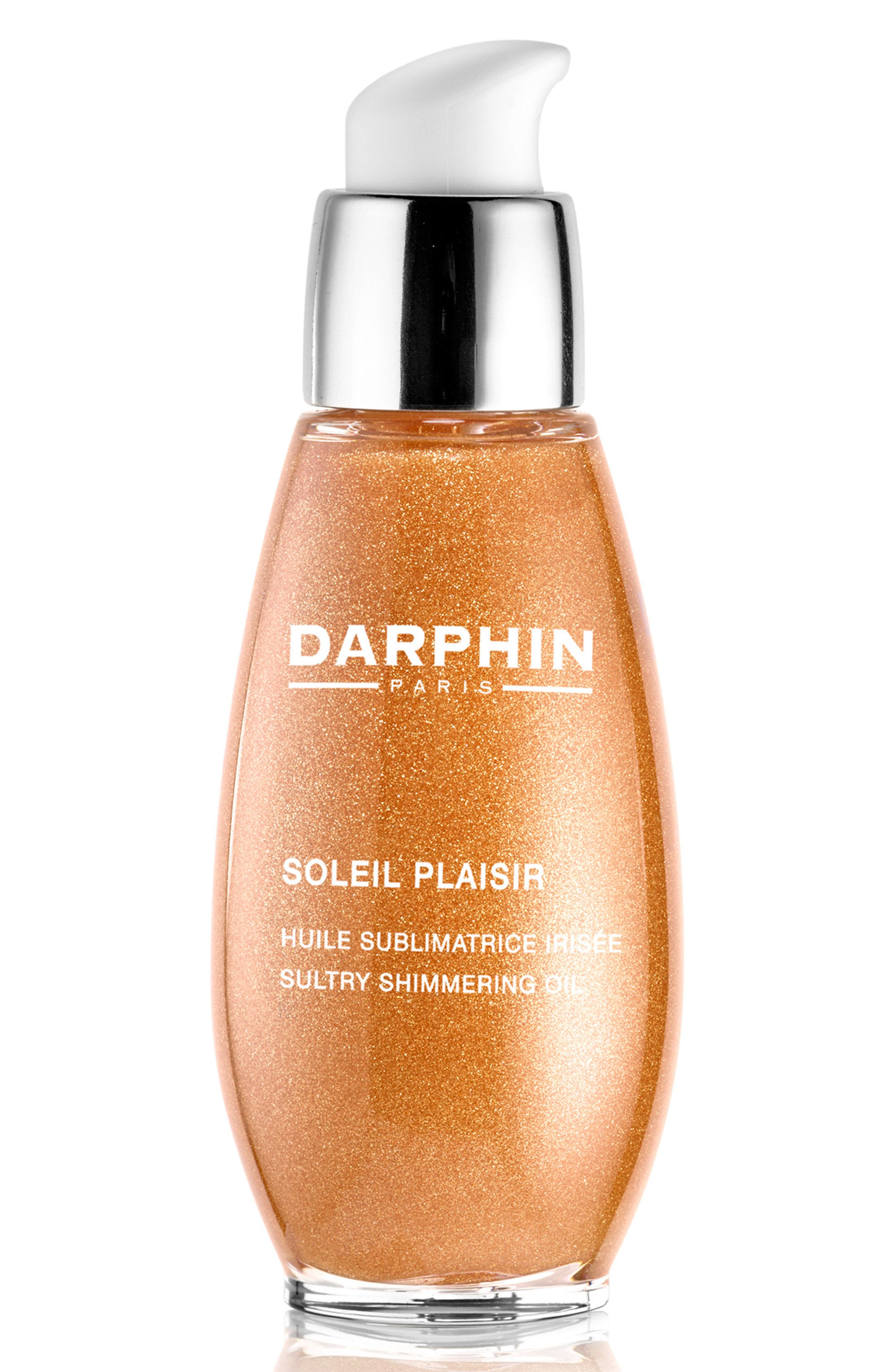 Soleil Plaisir Sultry Shimmering Oil,                             Main thumbnail 1, color,                             No Color