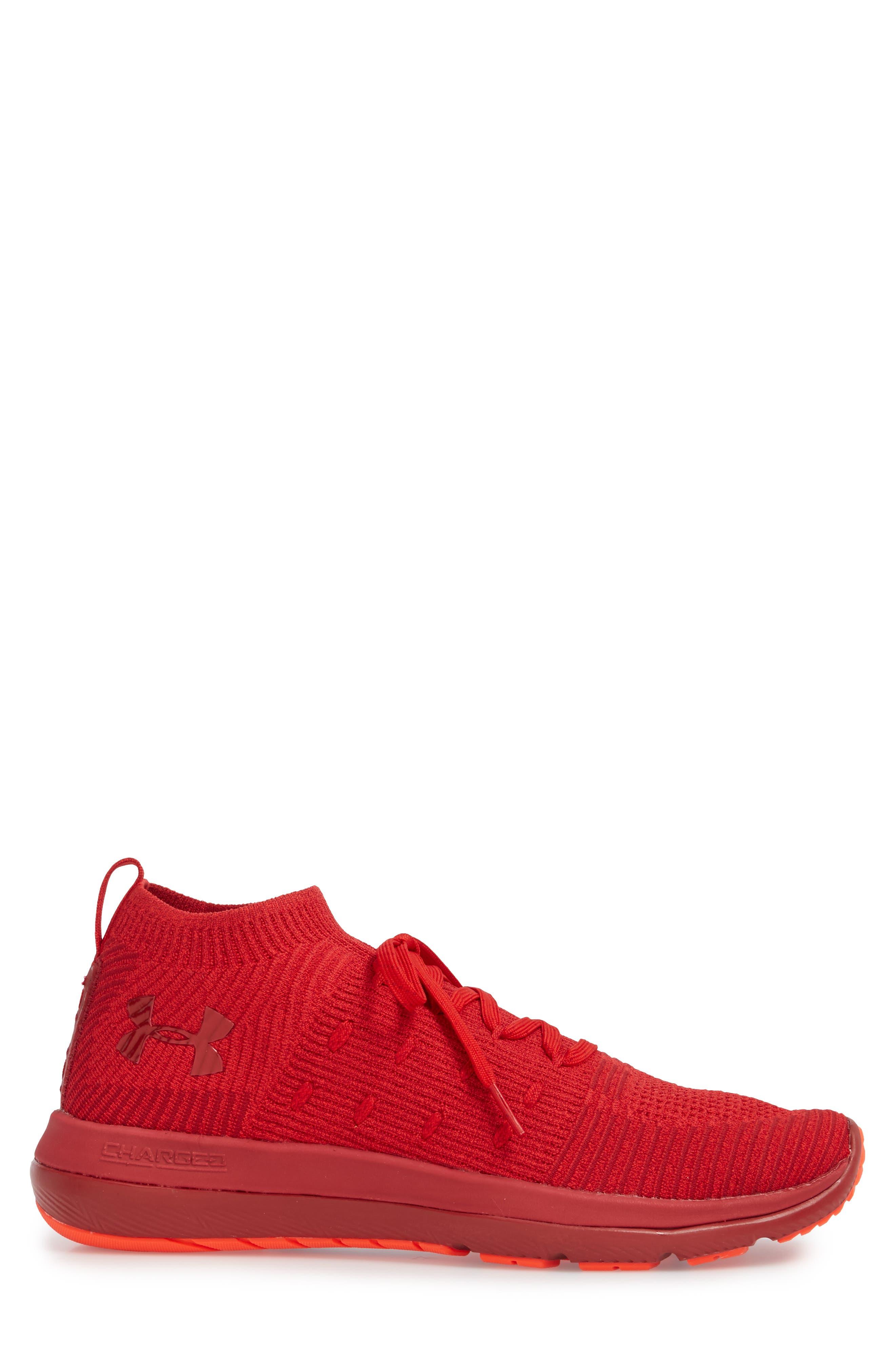 Slingflex Rise Sneaker,                             Alternate thumbnail 3, color,                             Pierce/ Spice Red