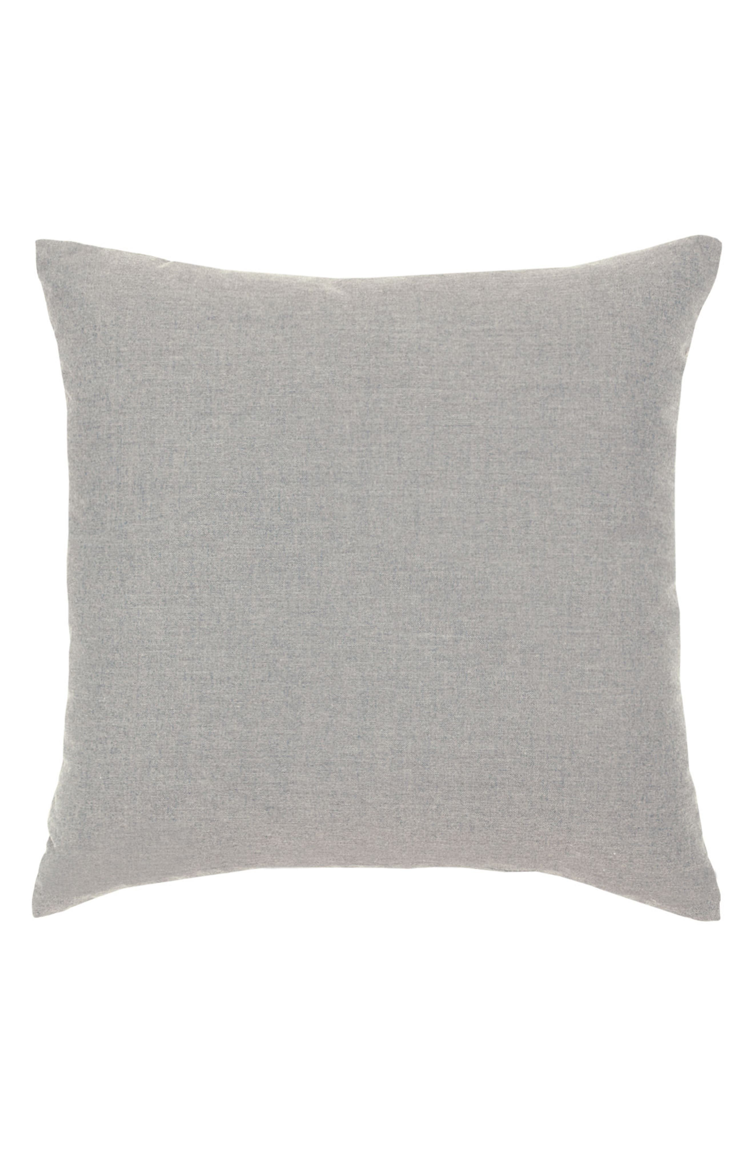 Alabaster Basket Weave Indoor/Outdoor Accent Pillow,                             Alternate thumbnail 2, color,                             Grey/ White