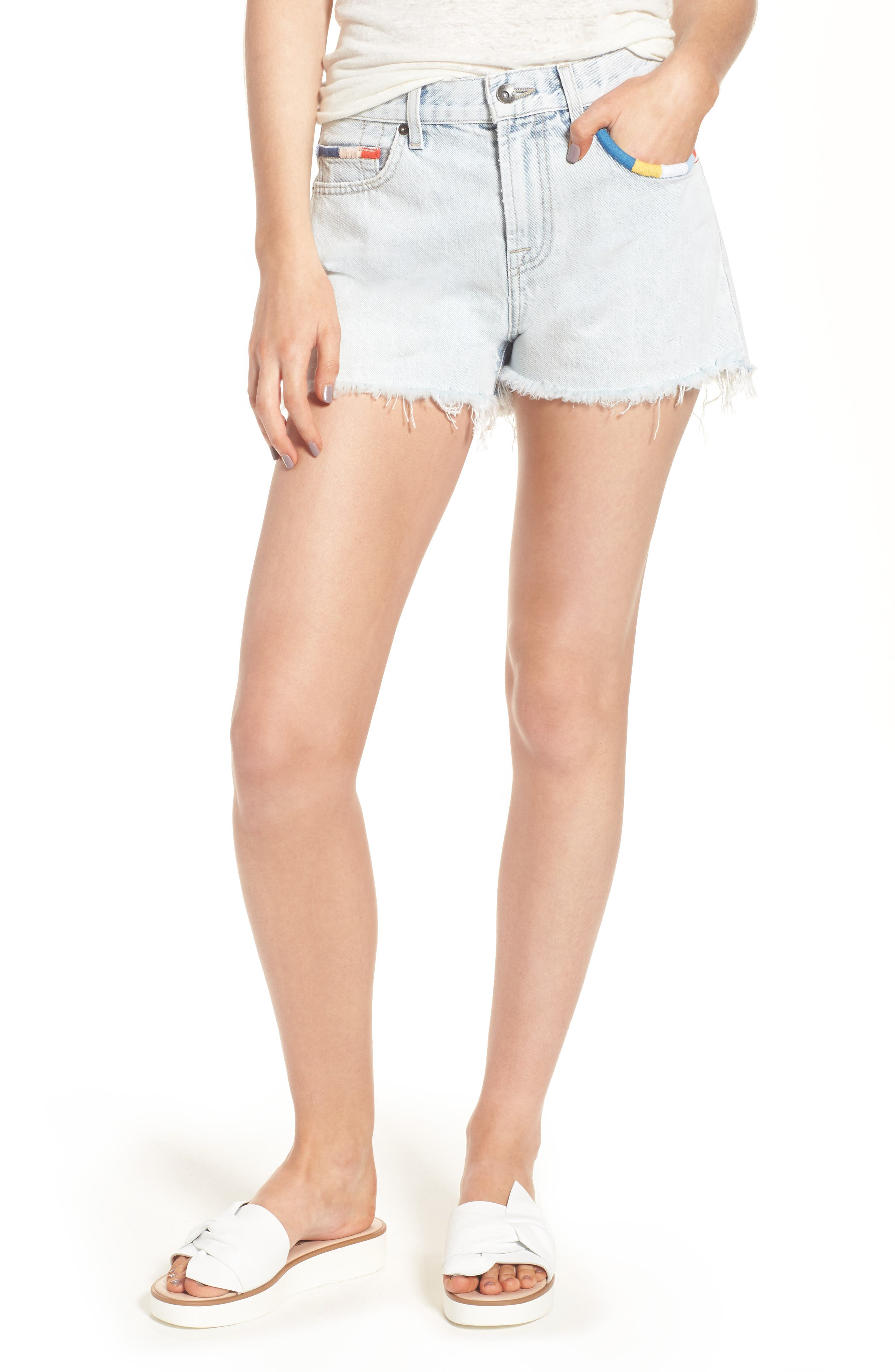 Splendid x Margherita Amore Denim Cutoff Shorts
