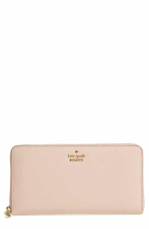 Kate Spade New York Cameron Street Lacey Leather Wallet