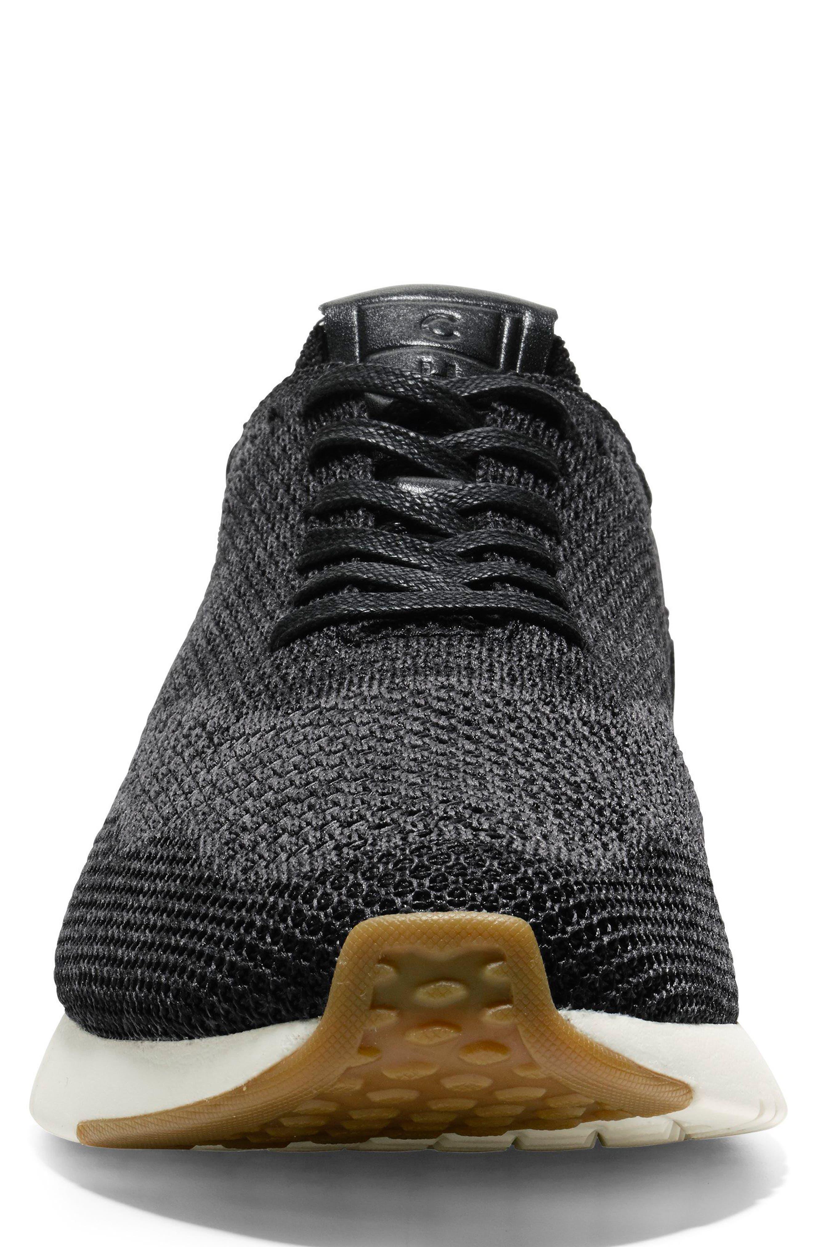 GrandPro Runner Stitchlite Sneaker,                             Alternate thumbnail 4, color,                             Black / Magnet