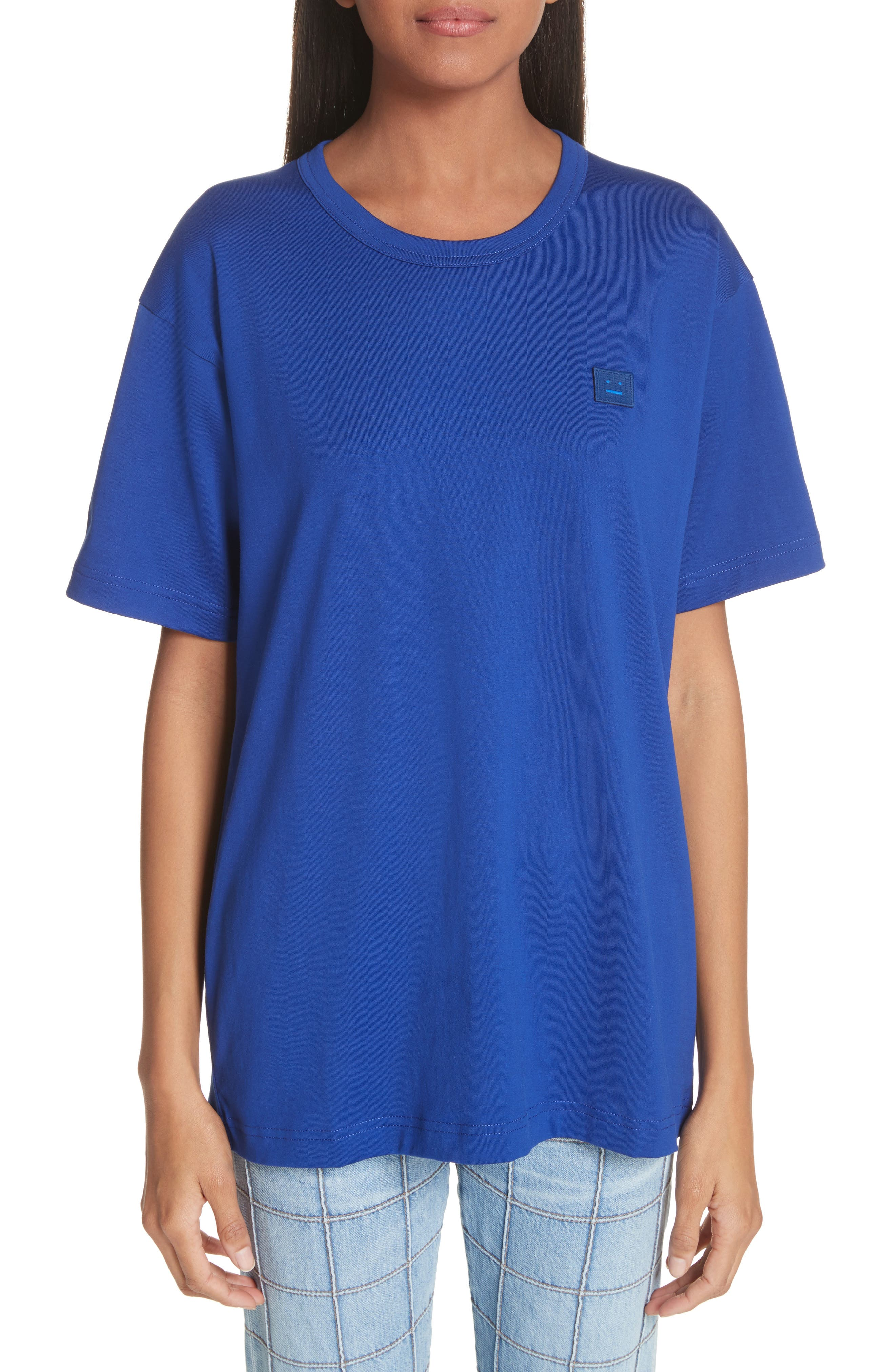 Nash Face Tee,                         Main,                         color, Ink Blue
