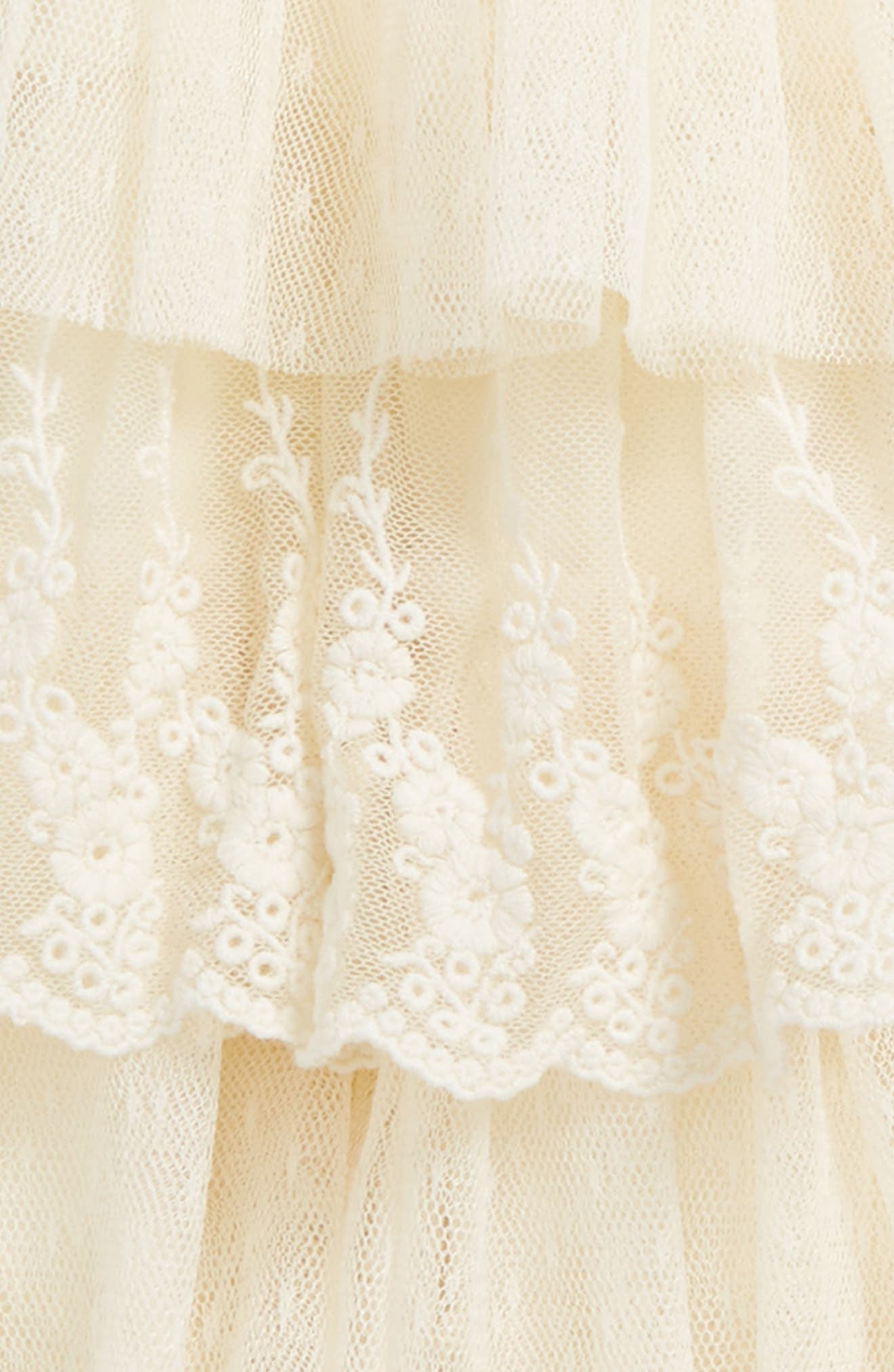 Lace Trim Tutu,                             Alternate thumbnail 2, color,                             Ivory