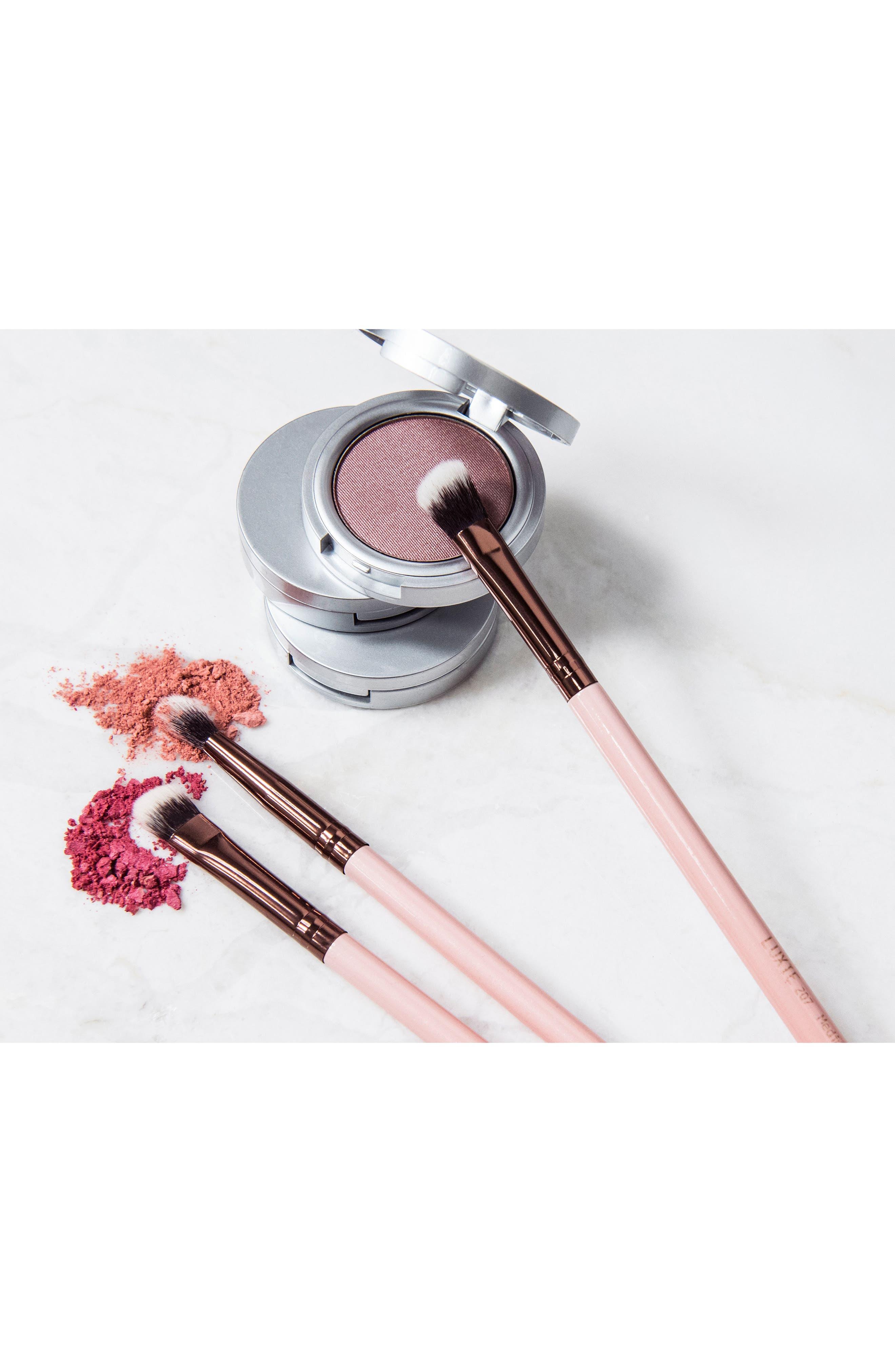 Alternate Image 2  - Luxie 205 Rose Gold Tapered Blending Eye Brush