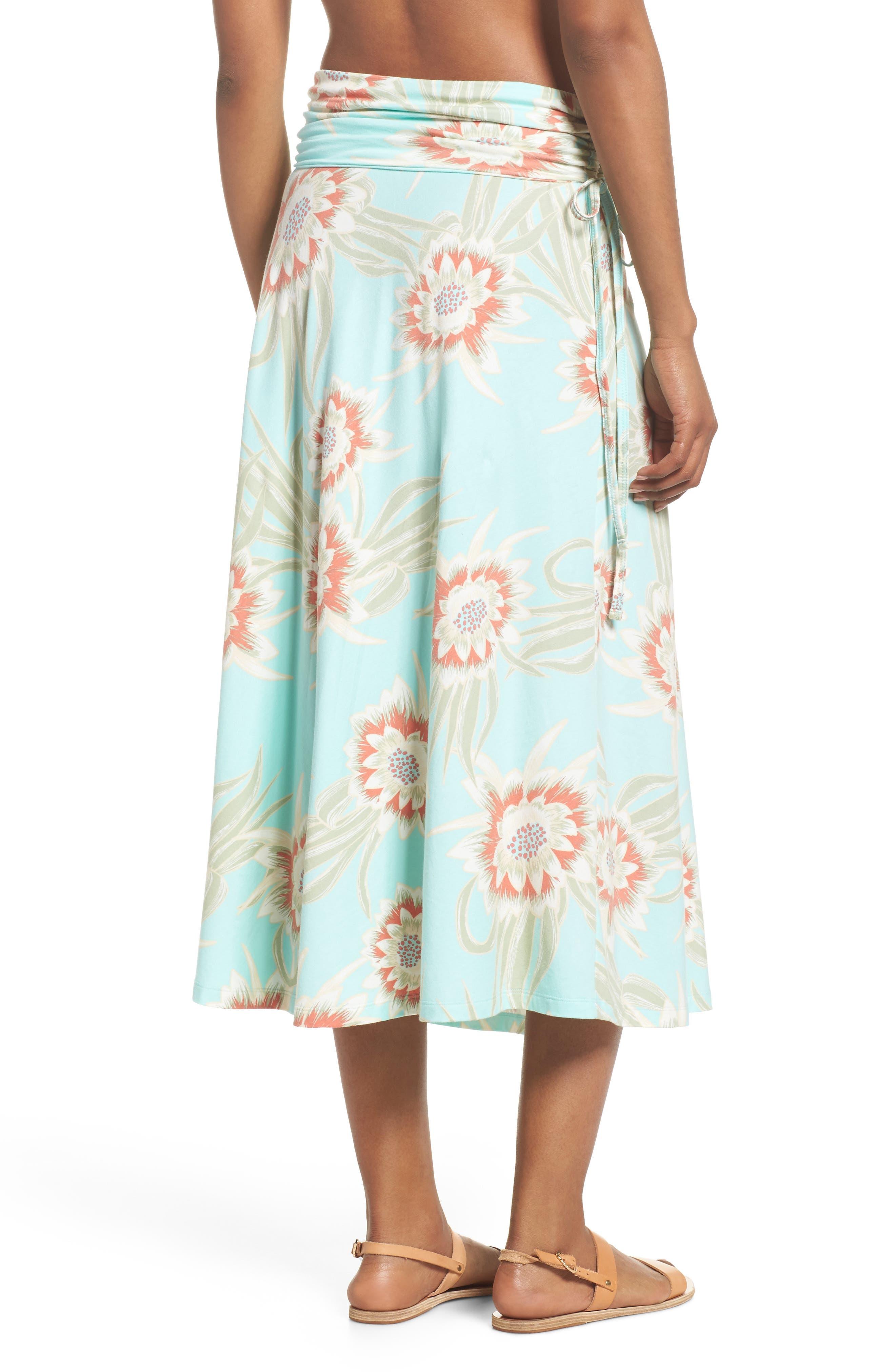 Kamala Maxi Skirt,                             Alternate thumbnail 3, color,                             Cereus Flower Bend