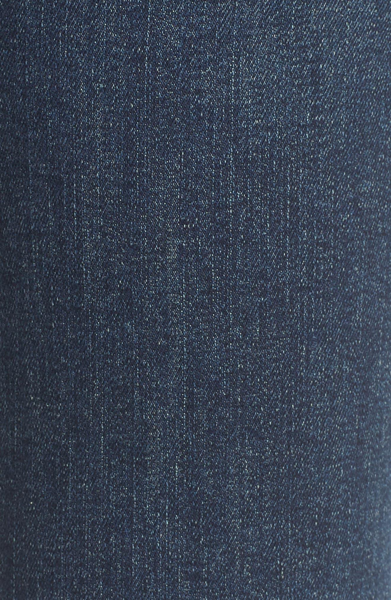 The Ponyboy Frayed Ankle Jeans,                             Alternate thumbnail 6, color,                             Bake Sale Brawl
