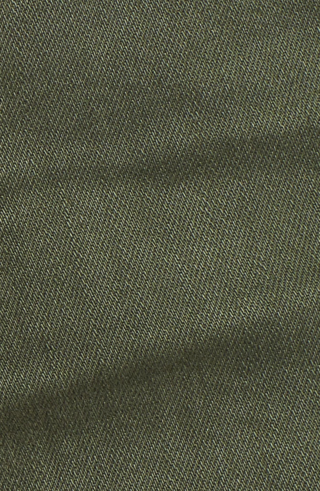 The Bryn High Waist Cutoff Denim Shorts,                             Alternate thumbnail 7, color,                             10 Years Remedy Desert Pine