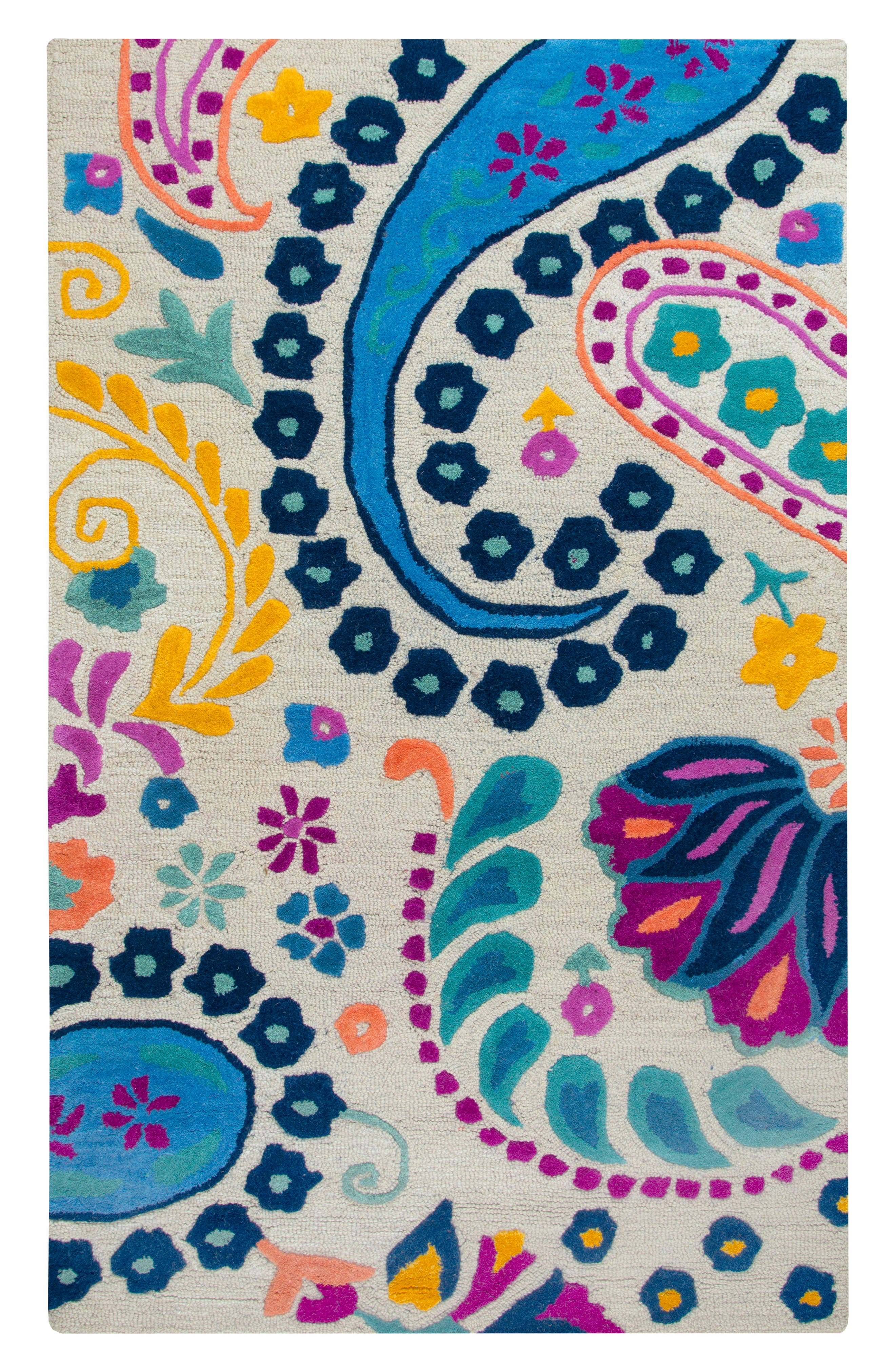 Rizzy Home Play Day Paisley Rug