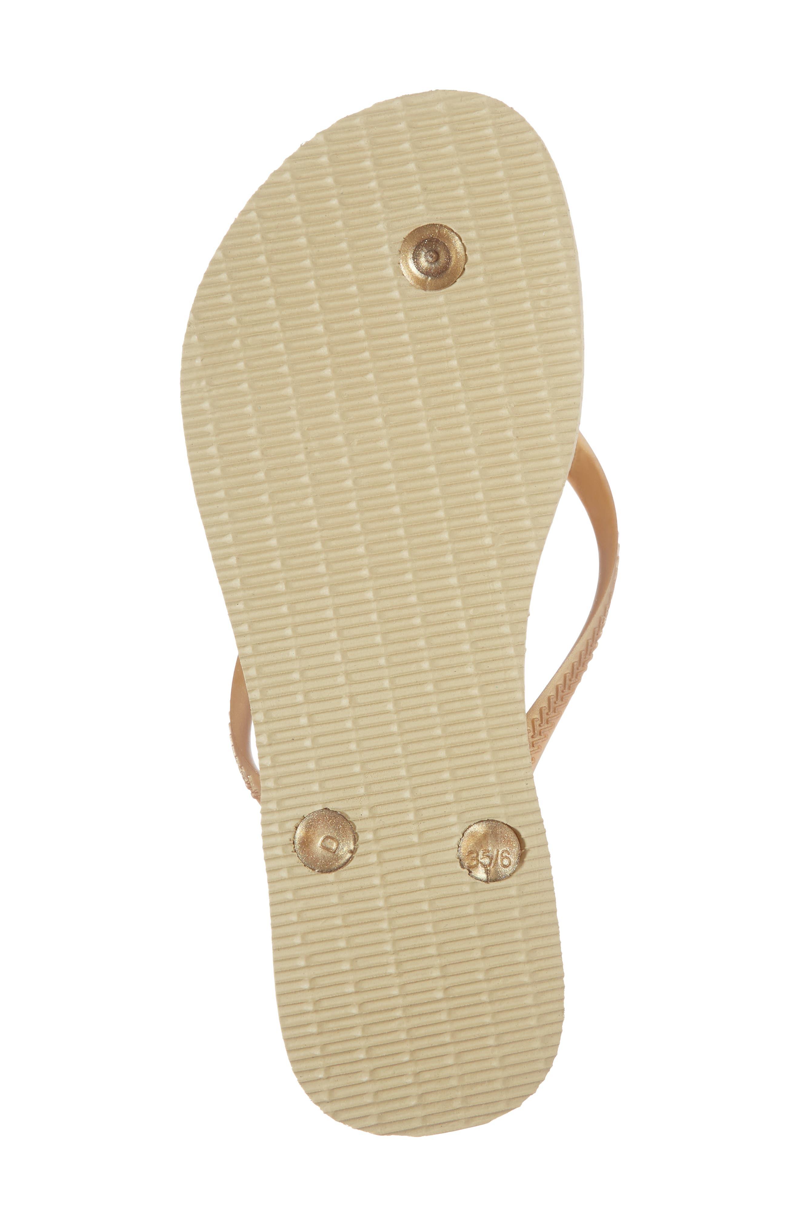 Alternate Image 6  - Havaianas Slim Lux Flip Flop (Women)