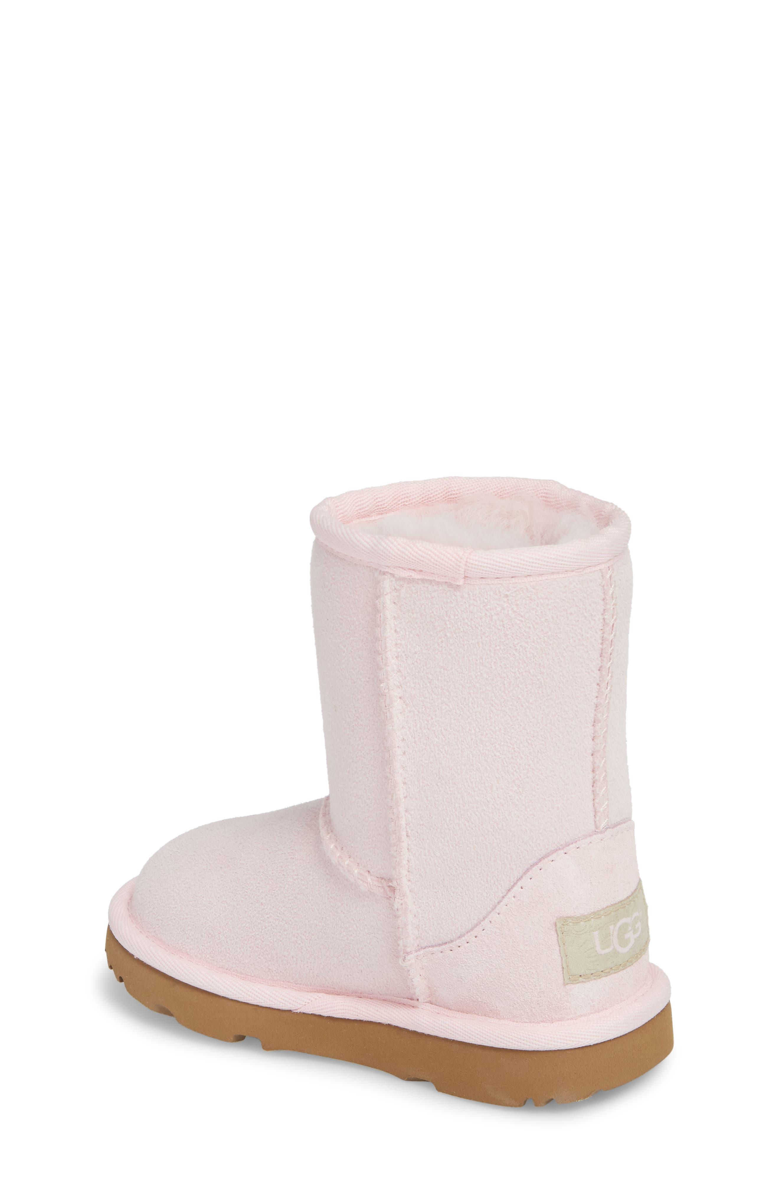 Alternate Image 2  - UGG® Classic II Water Resistant Genuine Shearling Boot (Walker, Toddler, Little Kid & Big Kid)