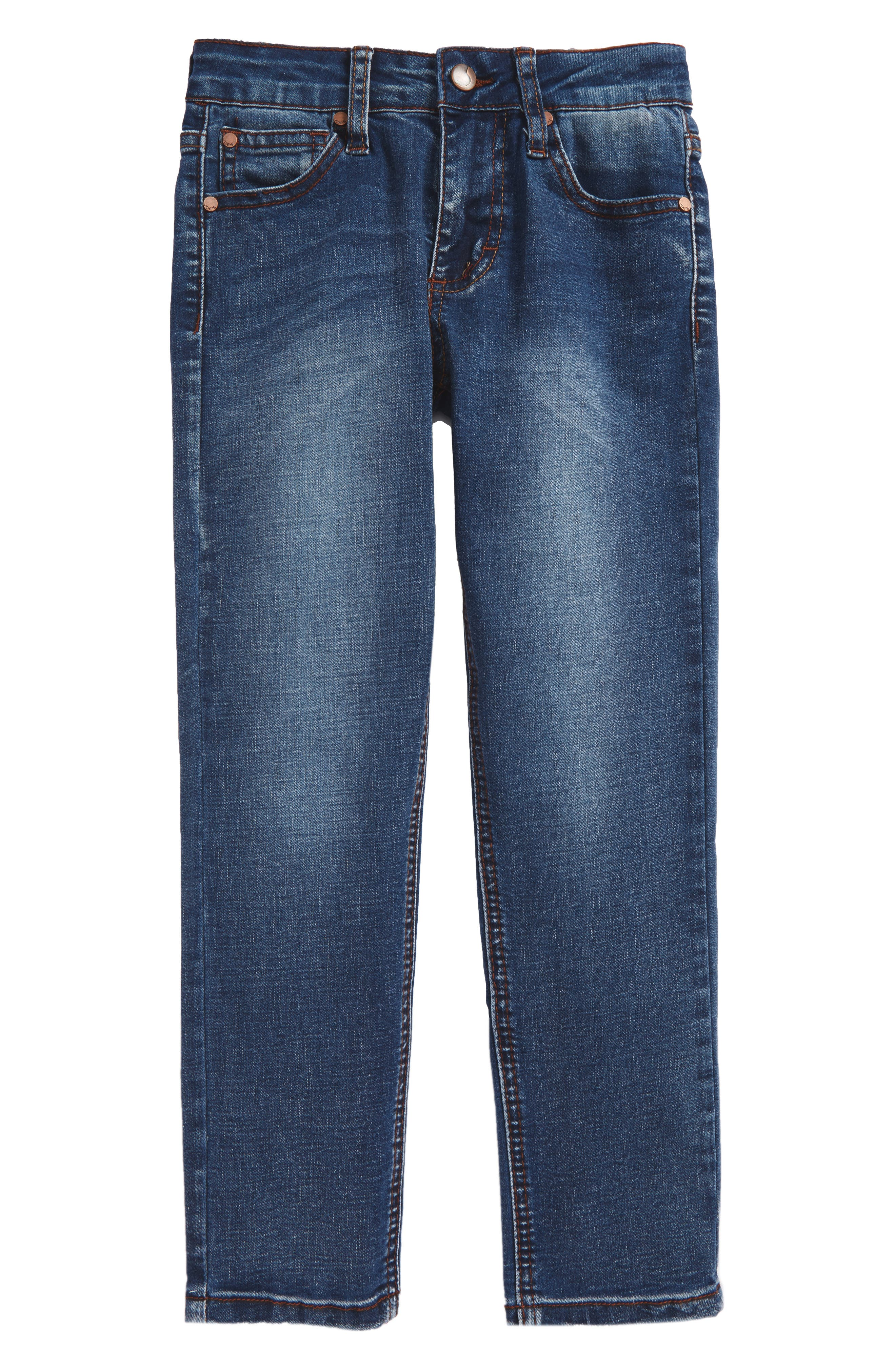 Brixton Slim Fit Stretch Jeans,                         Main,                         color, Cielo