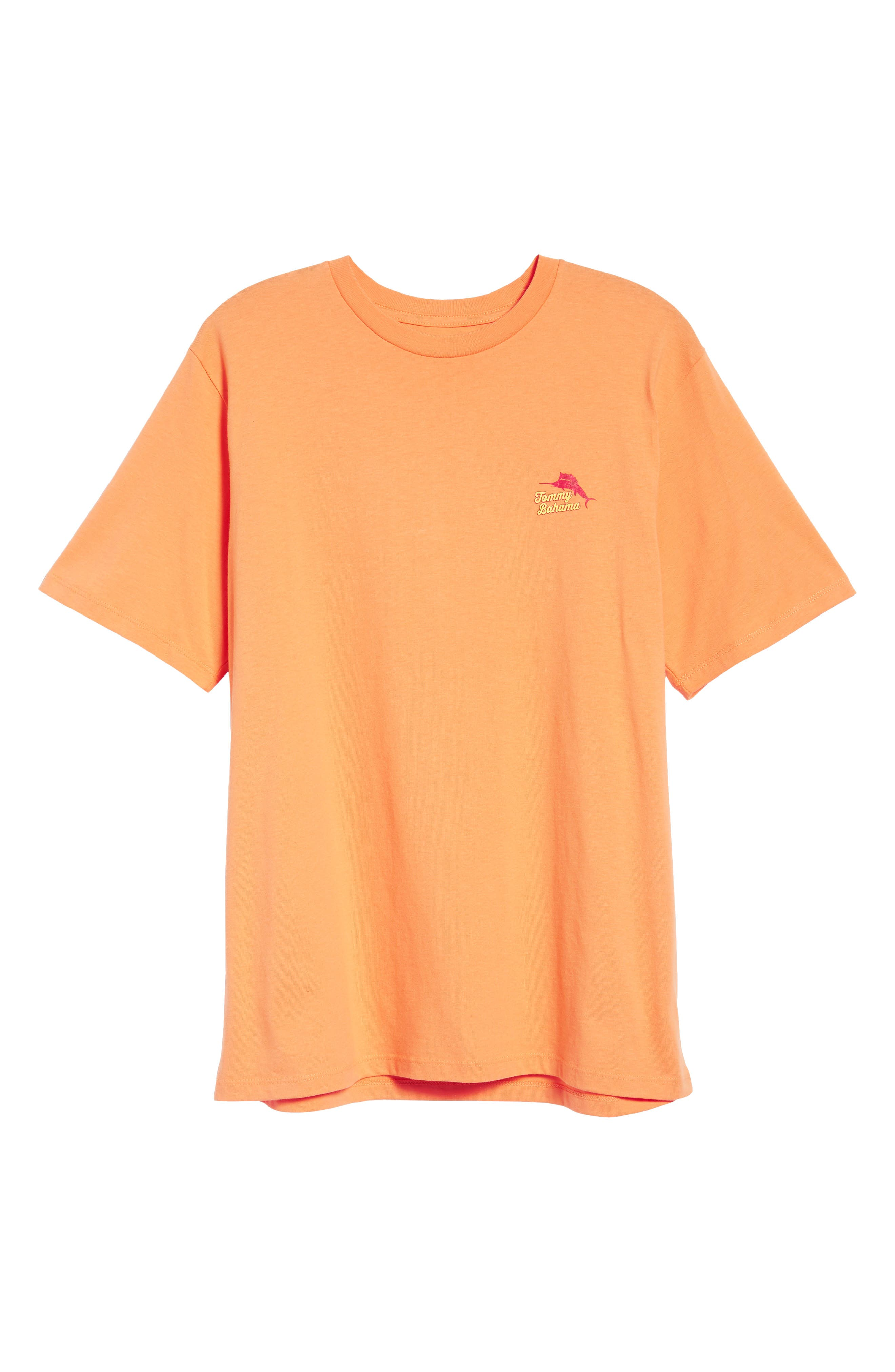Ryes to the Occasion T-Shirt,                             Alternate thumbnail 6, color,                             Bright Apricot