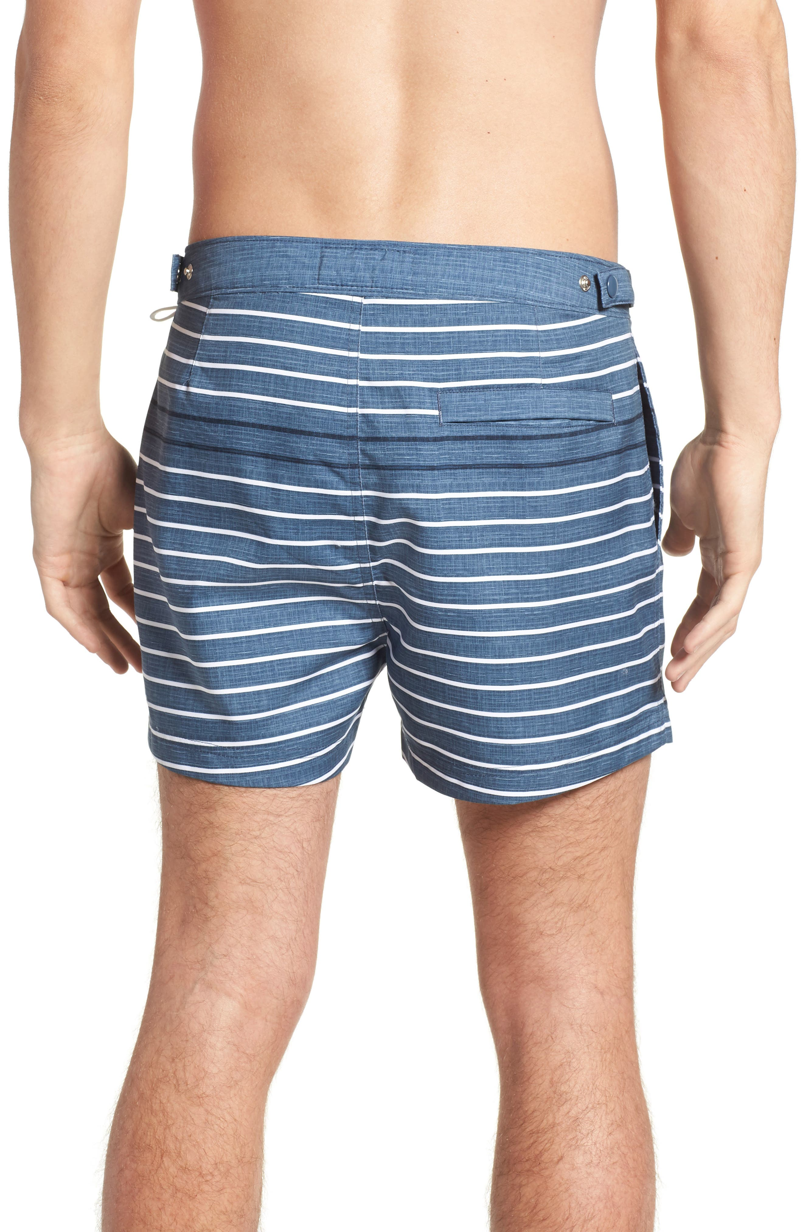 Feeder Stripe Board Shorts,                             Alternate thumbnail 2, color,                             Vintage Indigo