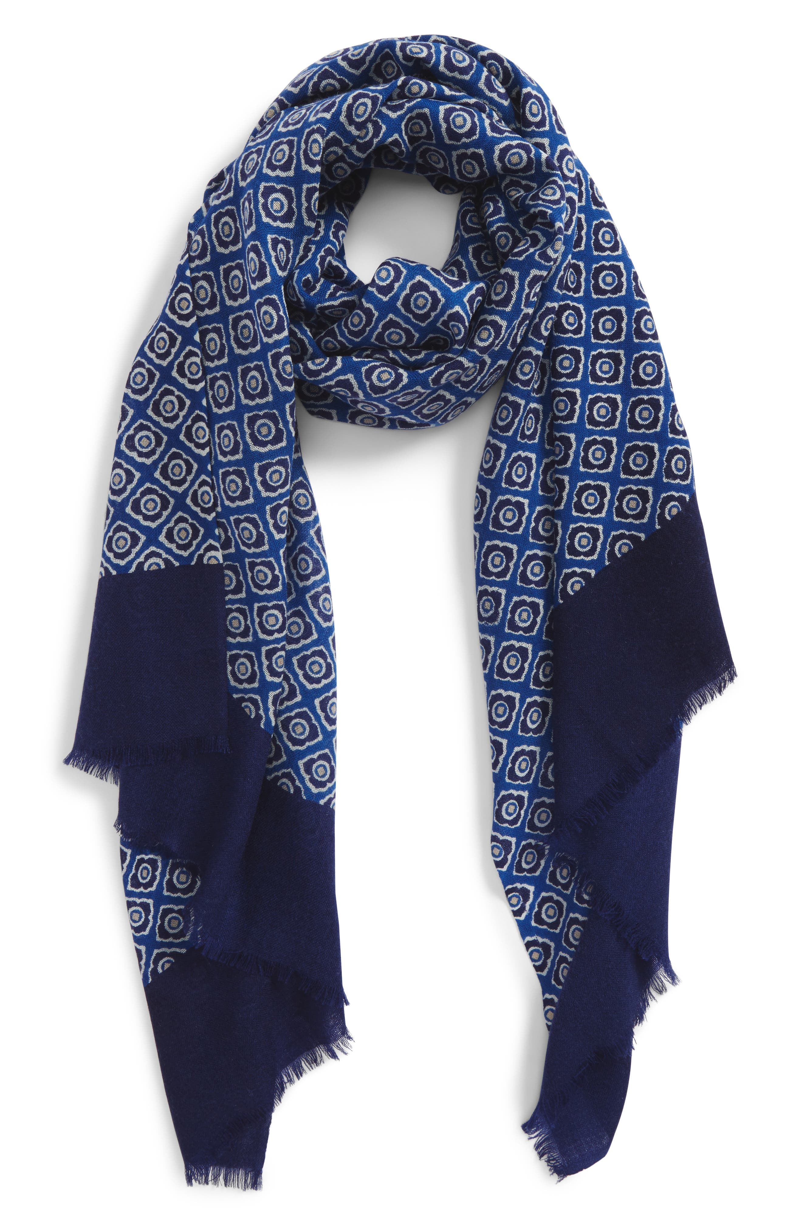 Calibrate Floral Wool Scarf