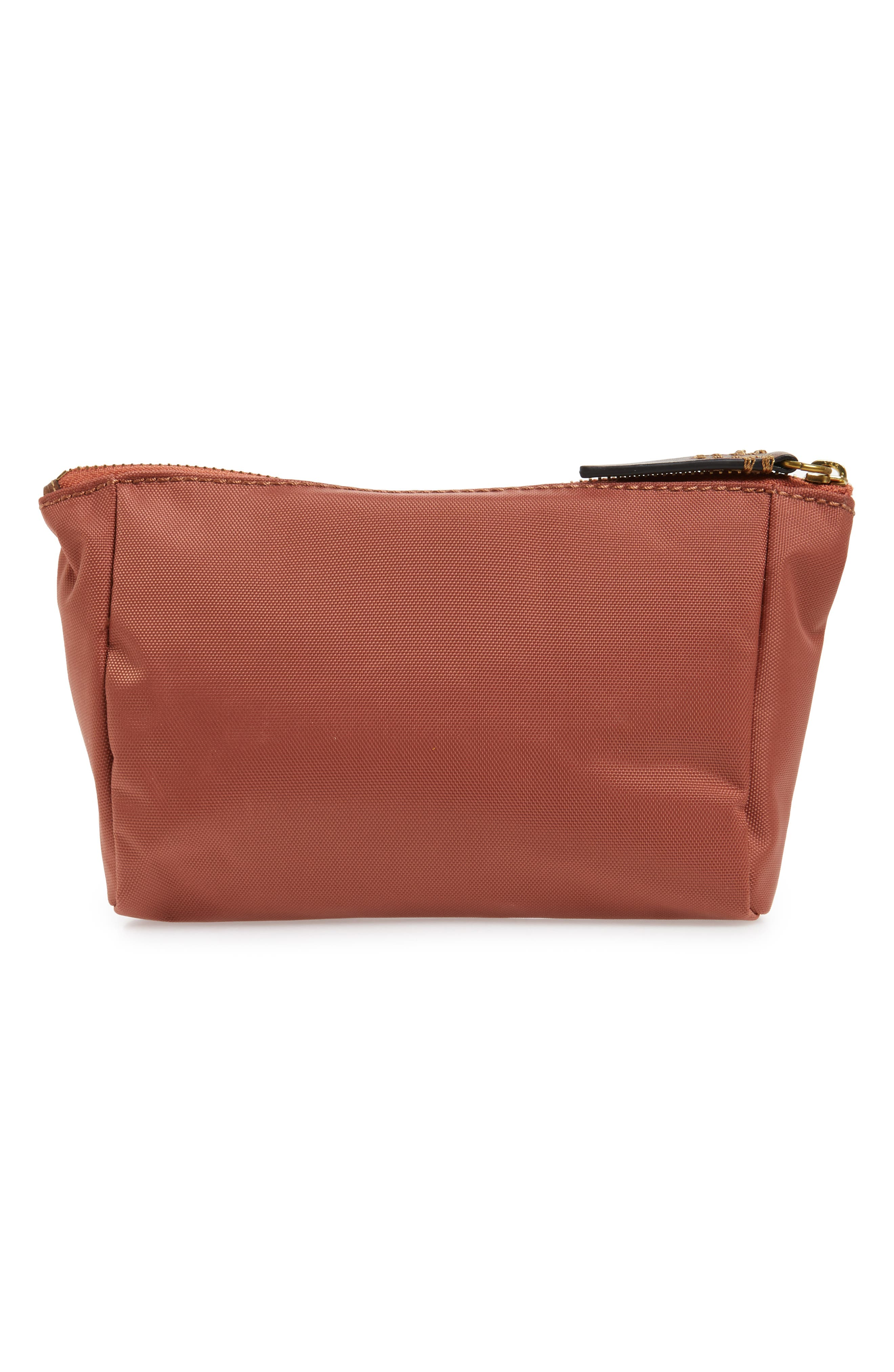 Ivy Nylon Cosmetics Bag,                             Alternate thumbnail 2, color,                             Dusty Rose
