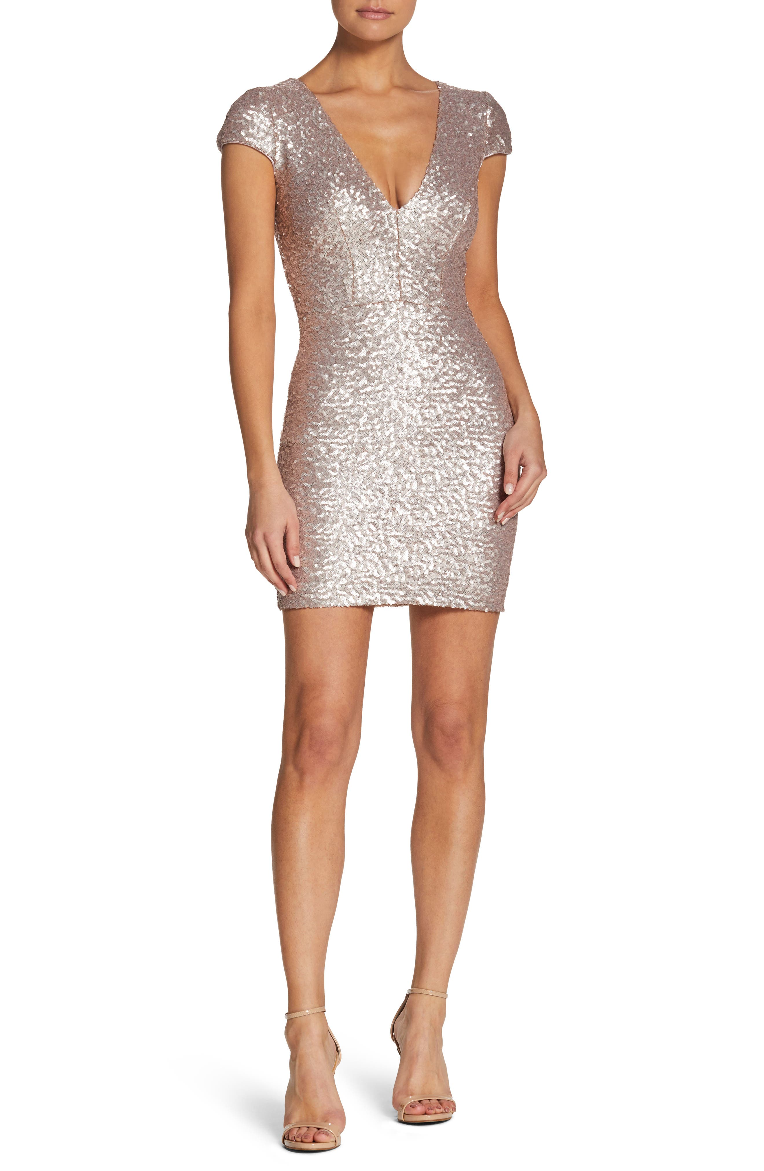 Dress the Population Zoe Sequin Minidress (Nordstrom Exclusive)