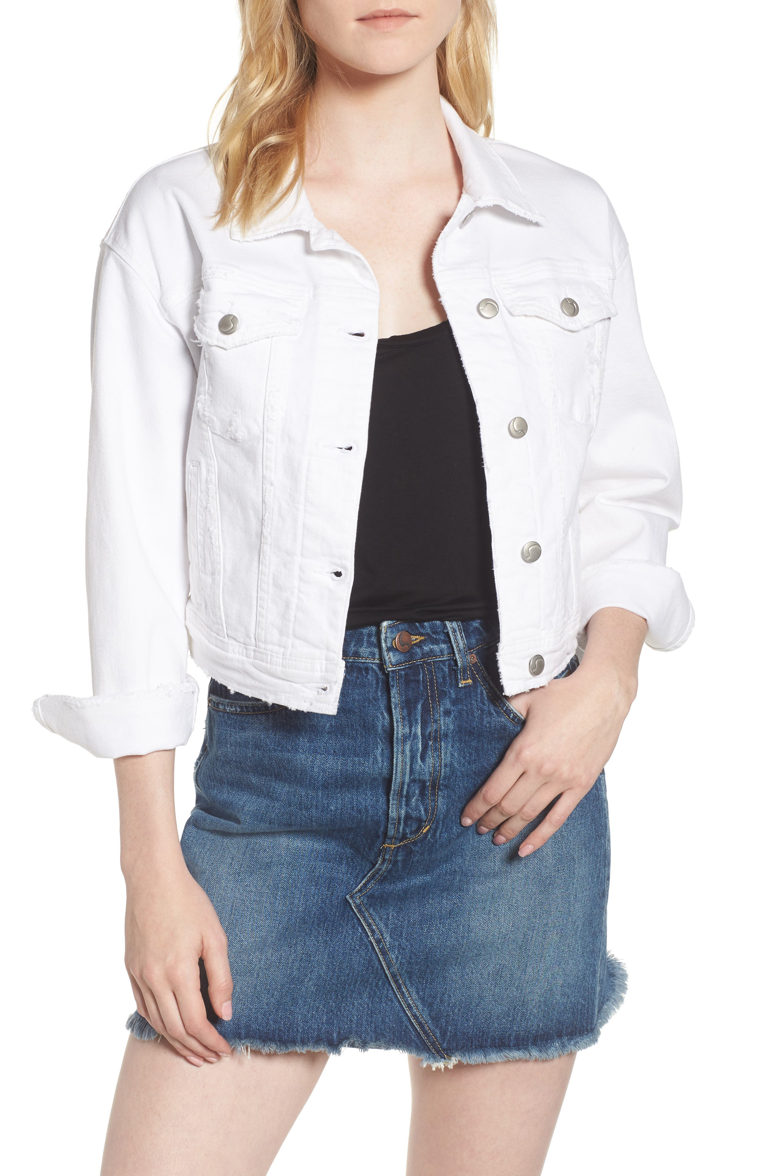 Joe's Dolman Crop Denim Jacket (Artemis)