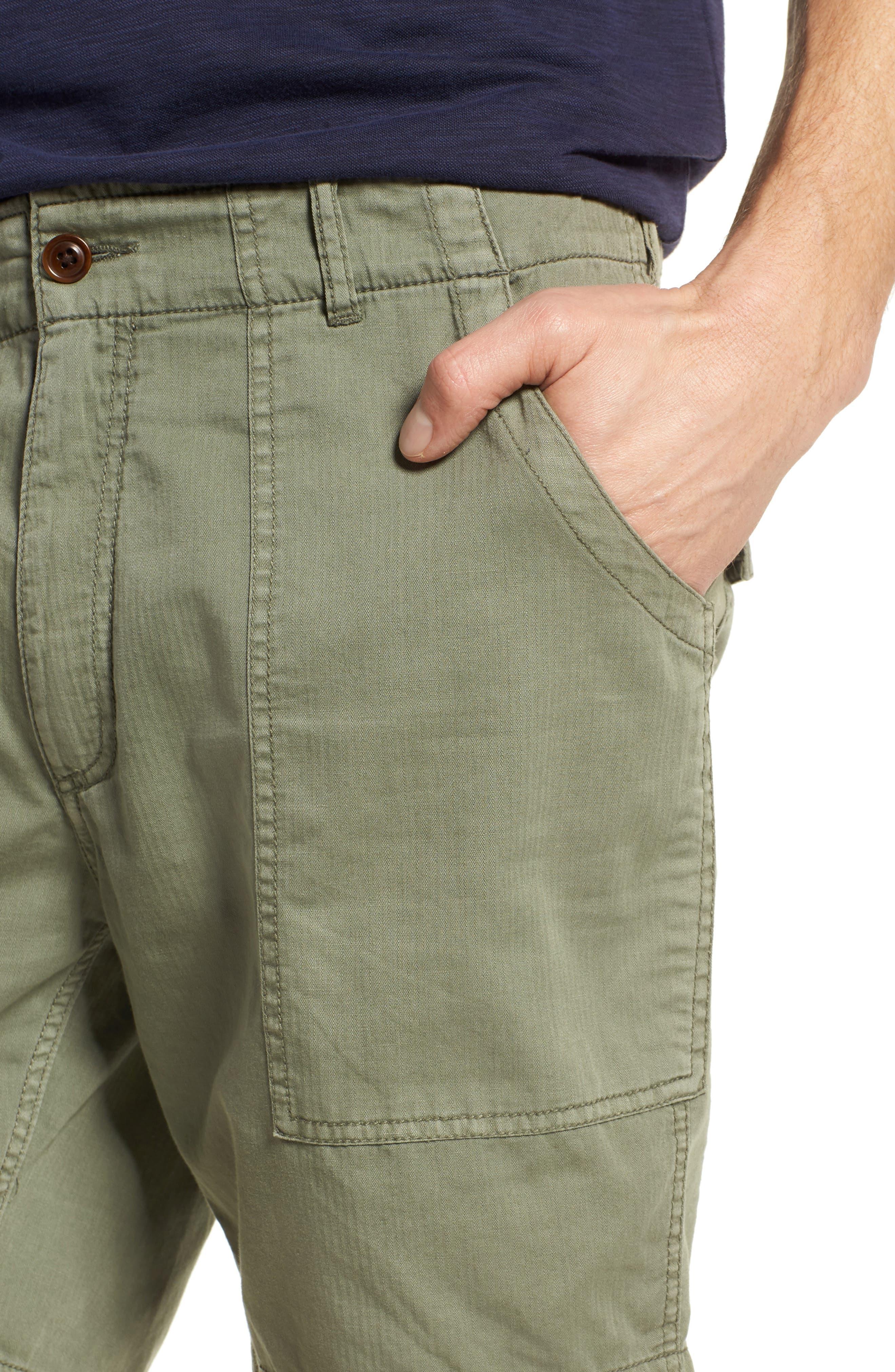 Radar Camp Shorts,                             Alternate thumbnail 4, color,                             Olive