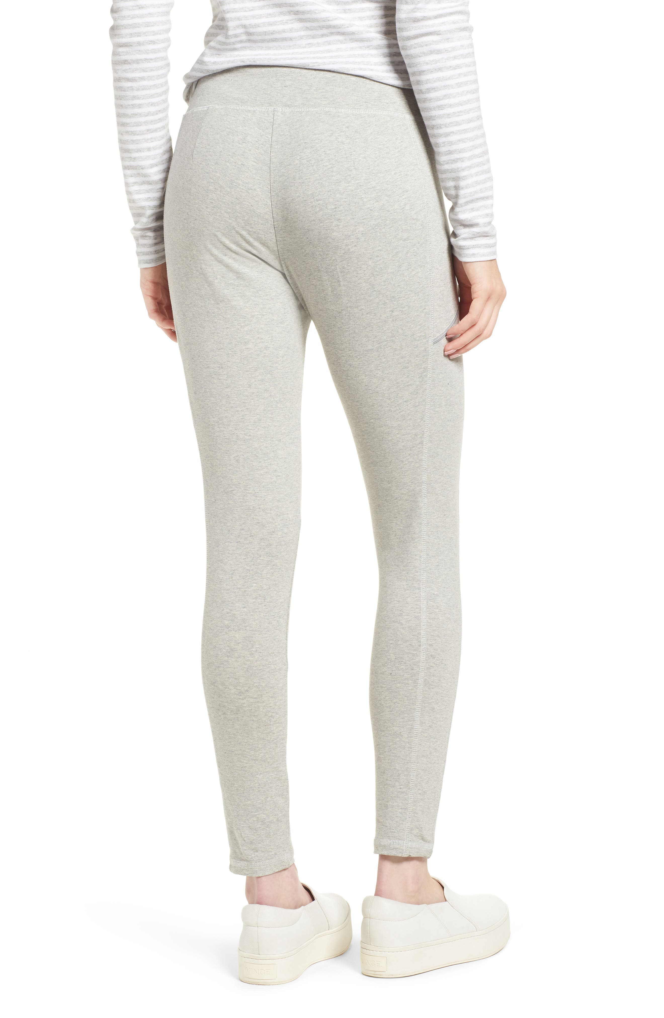Stretch Organic Cotton Skinny Pants,                             Alternate thumbnail 2, color,                             Dark Pearl