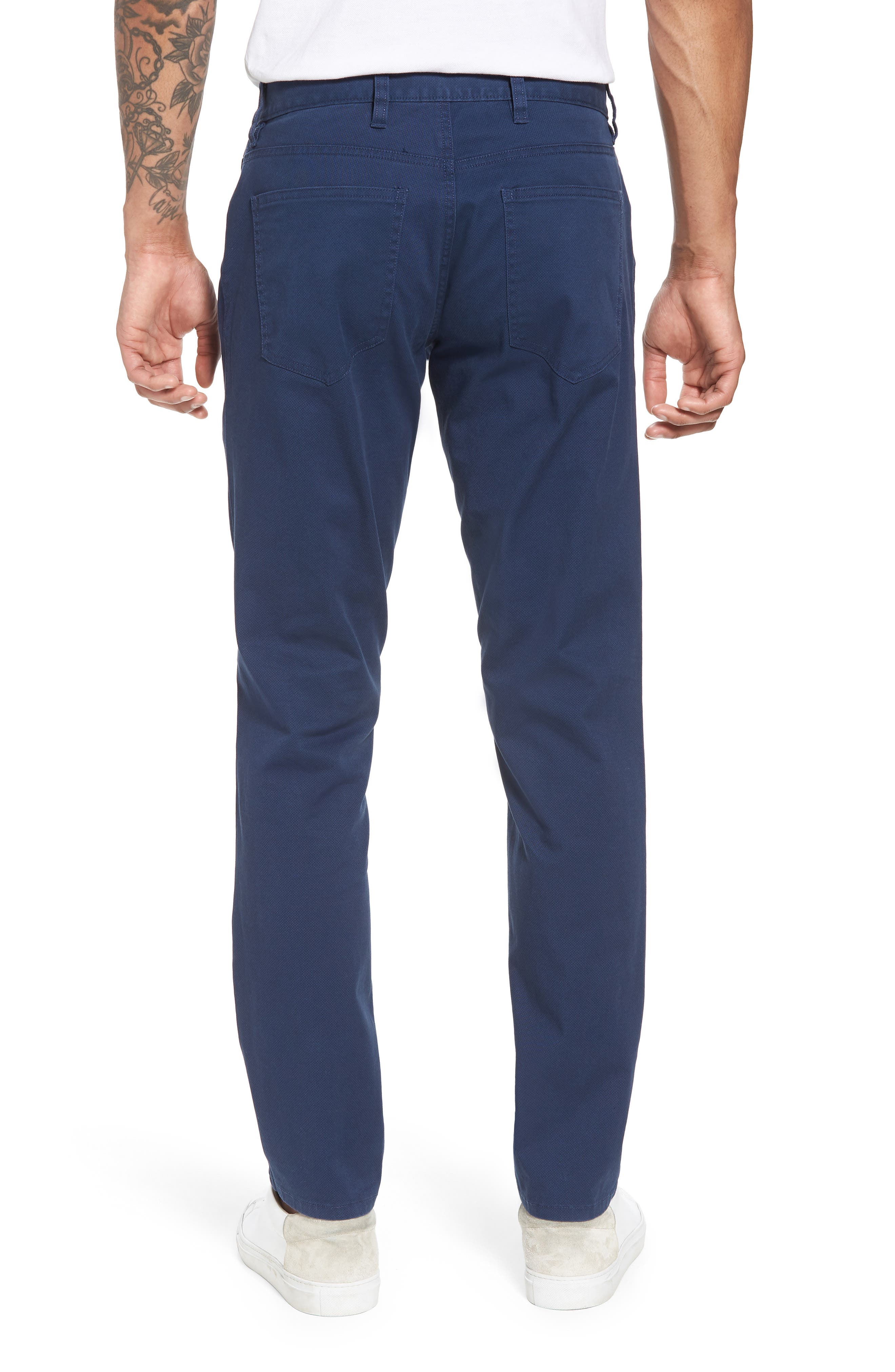 Alternate Image 2  - Nordstrom Men's Shop Textured Stretch Cotton Pants