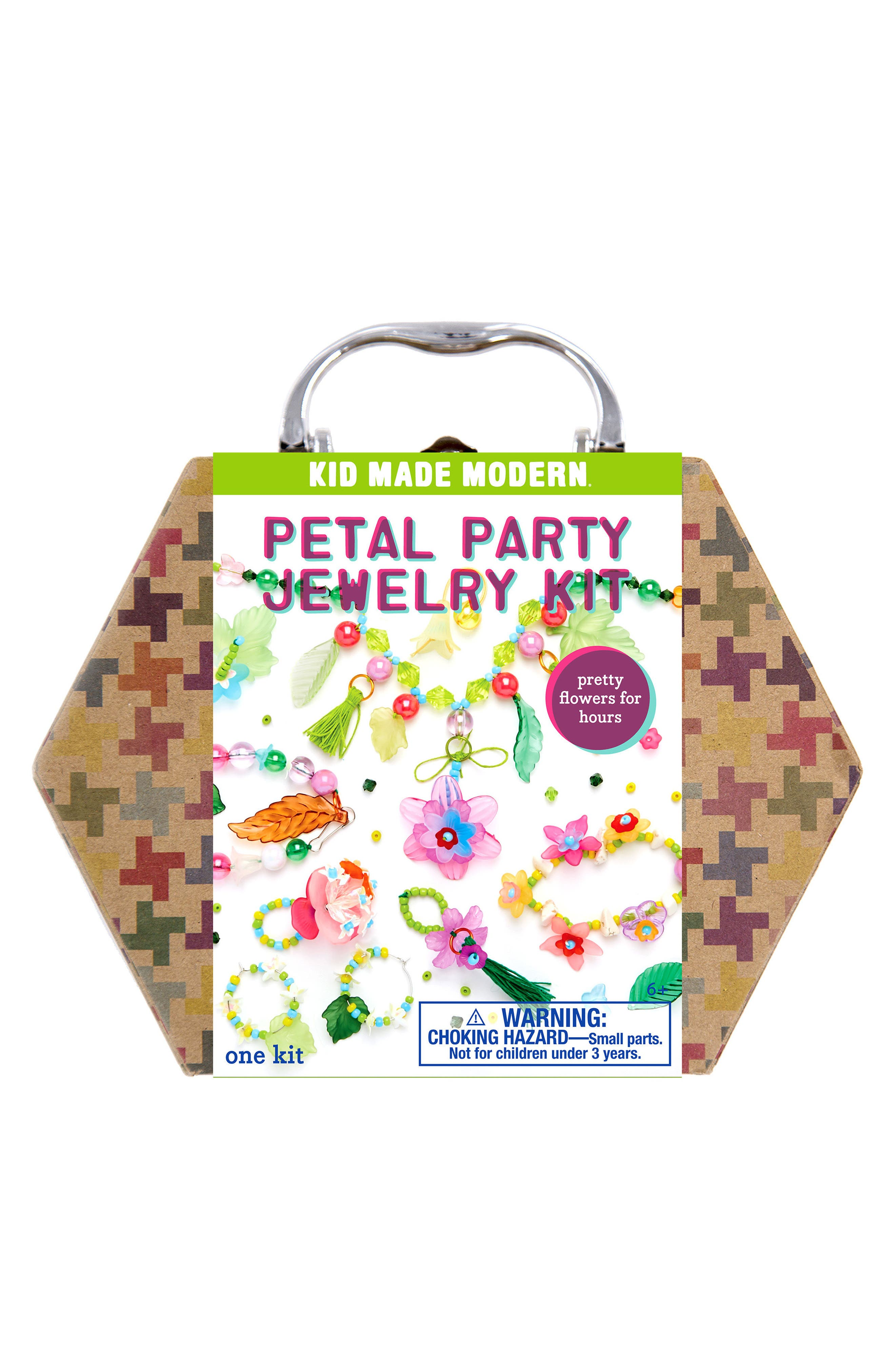 Petal Party Jewelry Kit,                         Main,                         color, Green