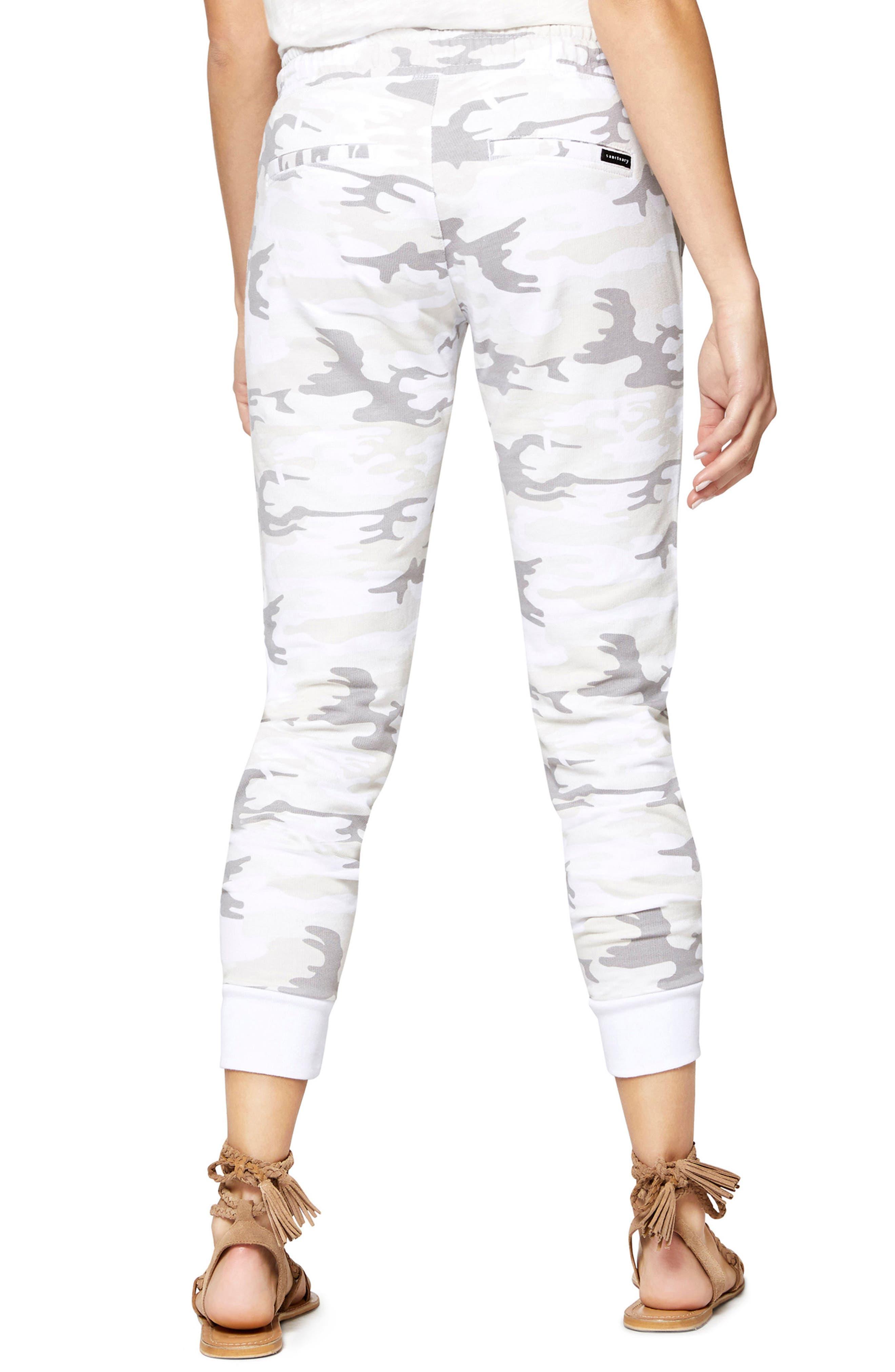 Peace Brigade Jogger Pants,                             Alternate thumbnail 2, color,                             White Camo