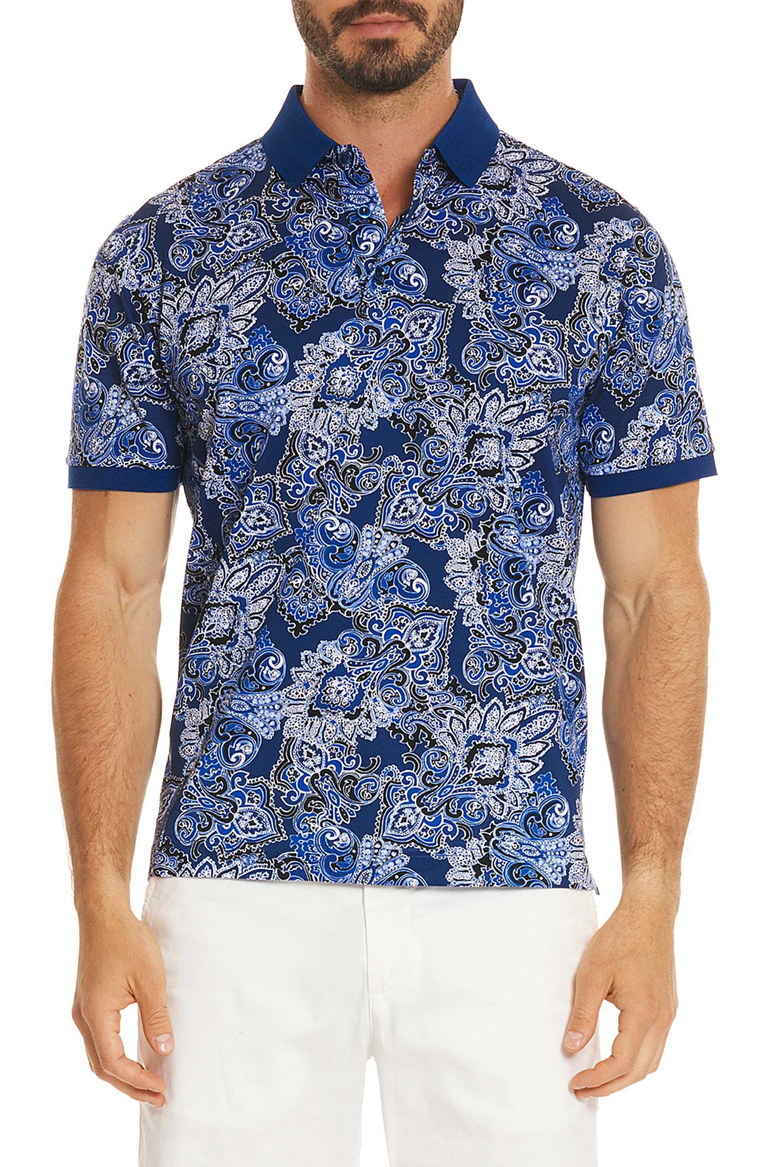 Maurie Classic Fit Polo,                         Main,                         color, Blue