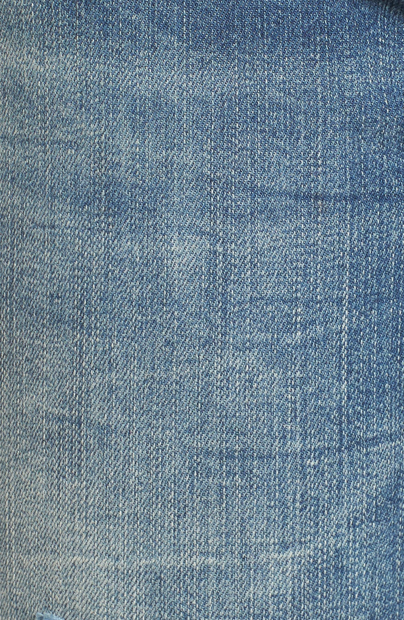Distressed High Waist Skinny Jeans,                             Alternate thumbnail 6, color,                             Shot Not