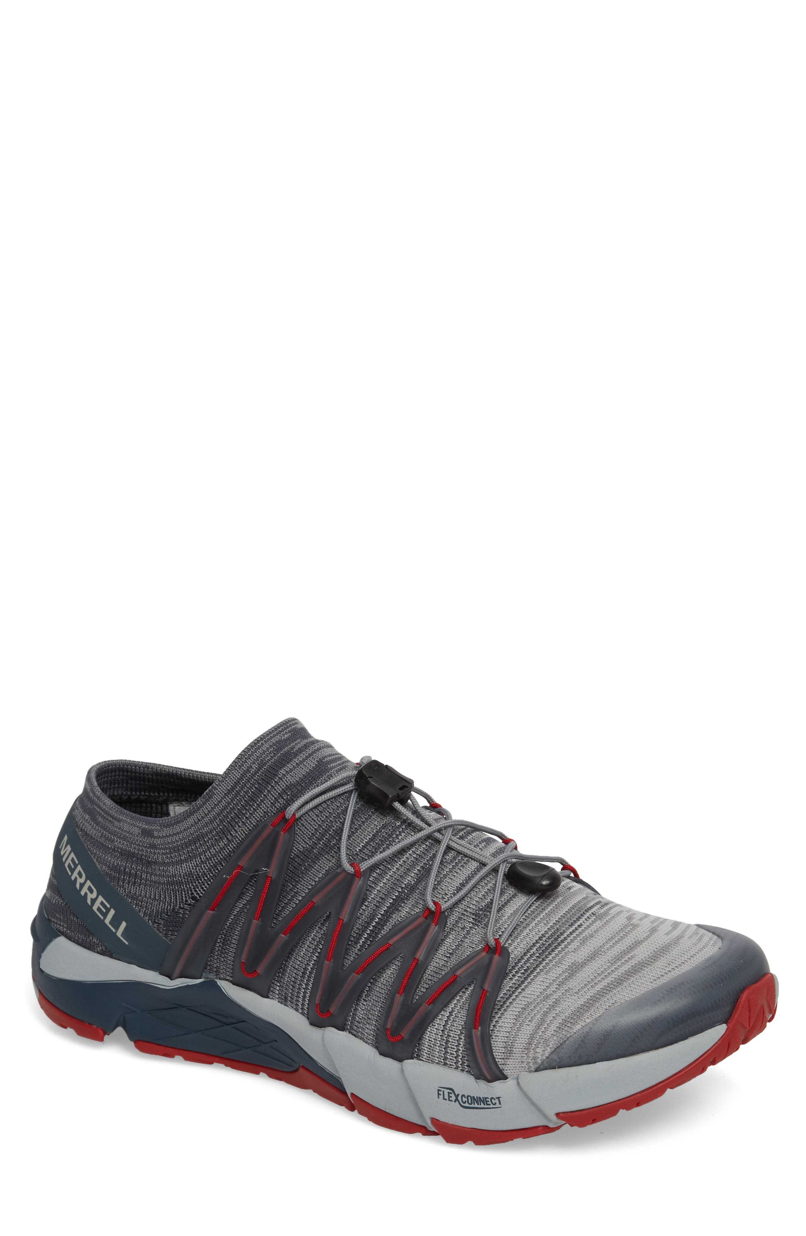 Bare Access Flex Knit Running Shoe,                         Main,                         color, Vapor