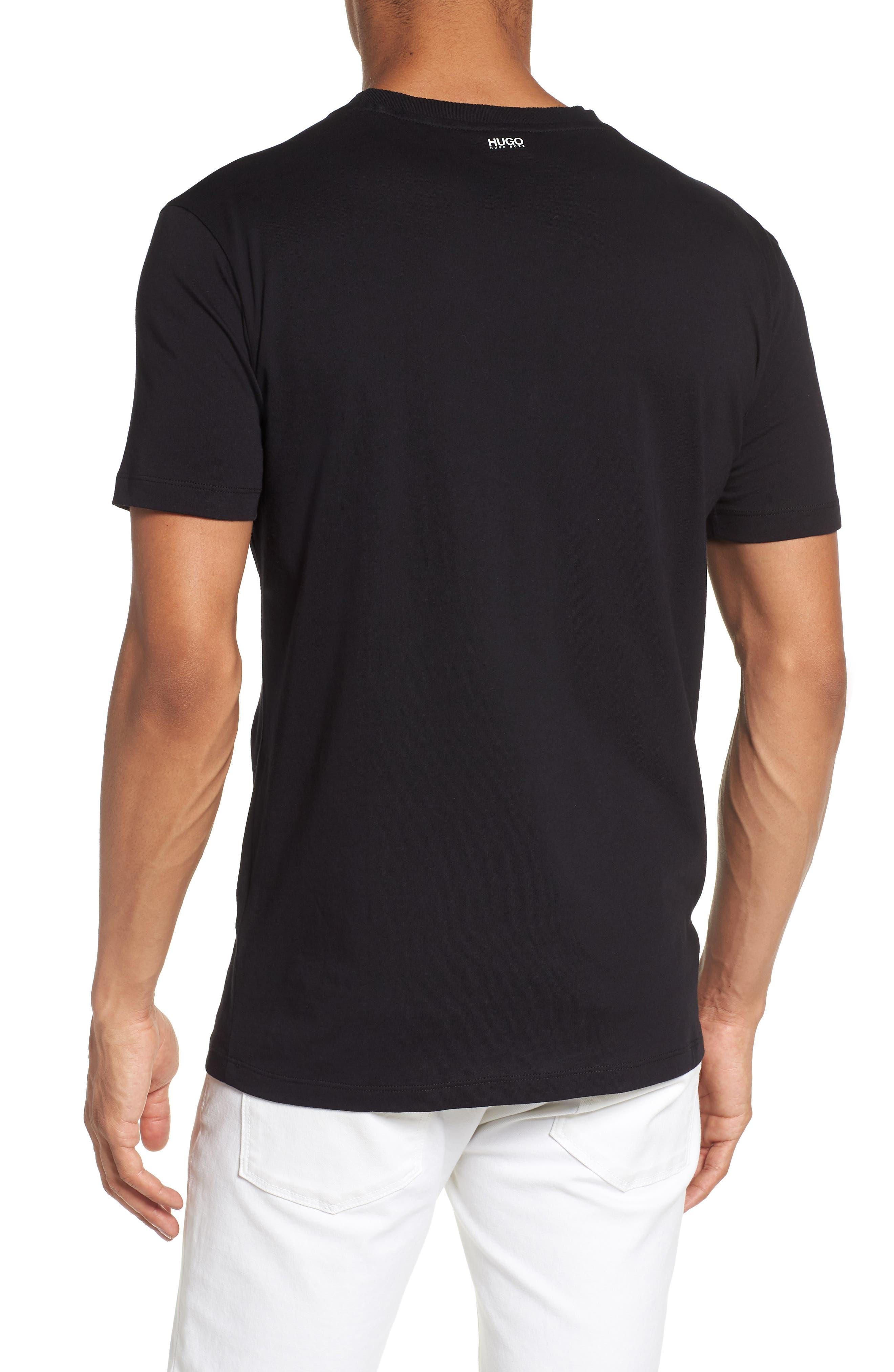 Dimage T-Shirt,                             Alternate thumbnail 2, color,                             Black