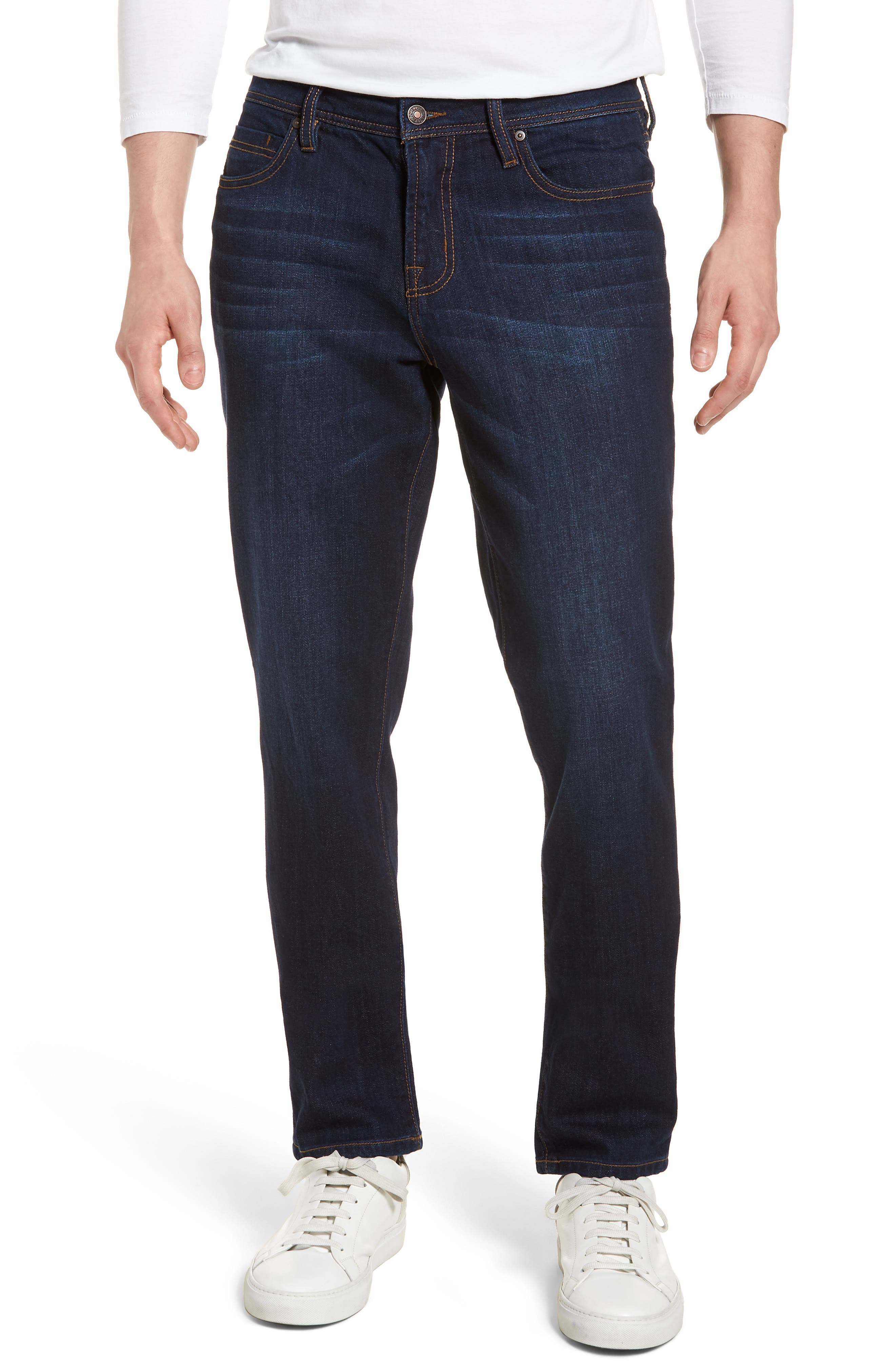 Jeans Co. Kingston Slim Straight Leg Jeans,                             Main thumbnail 1, color,                             San Ardo Vintage Dark