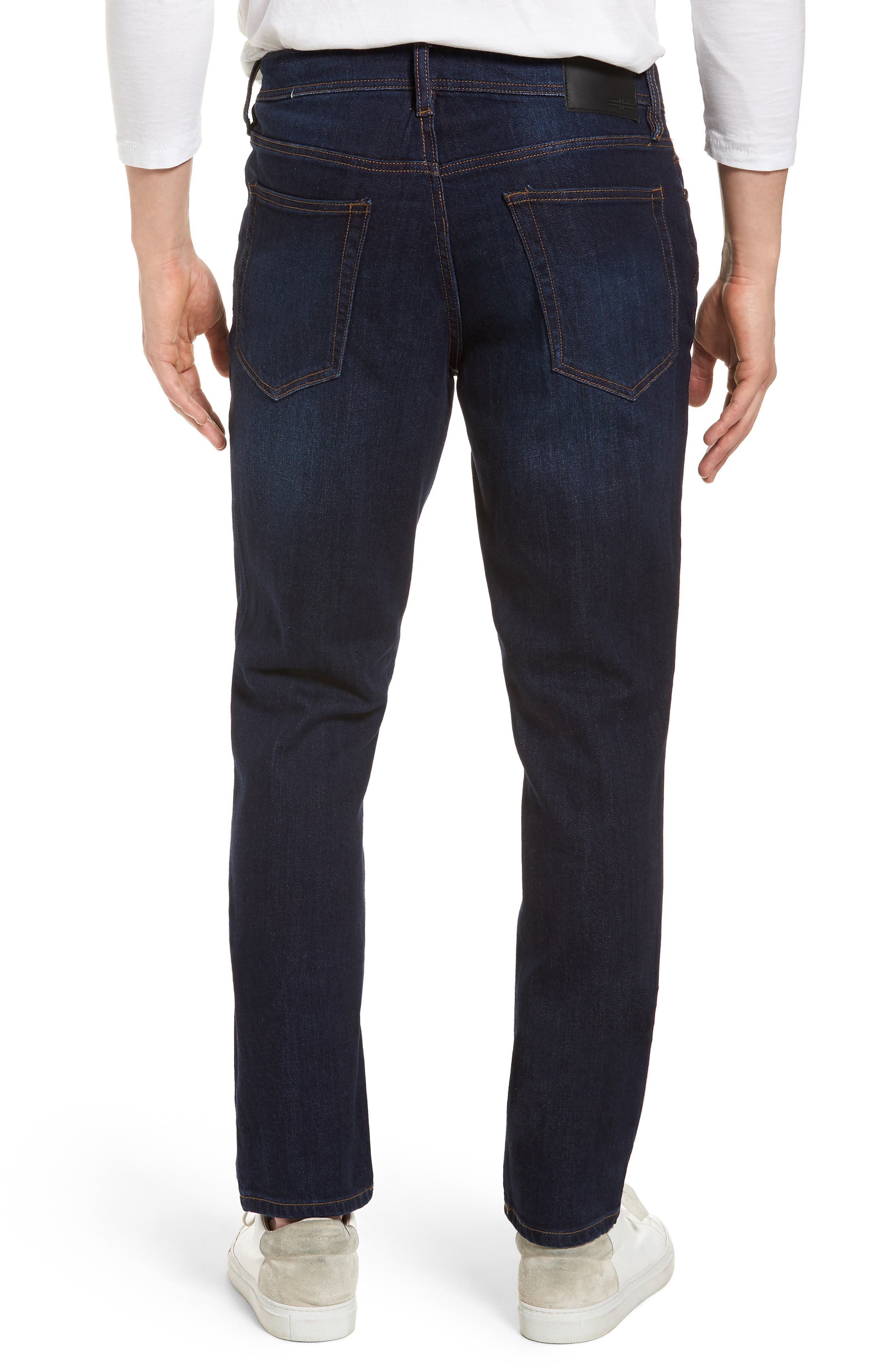Jeans Co. Kingston Slim Straight Leg Jeans,                             Alternate thumbnail 2, color,                             San Ardo Vintage Dark