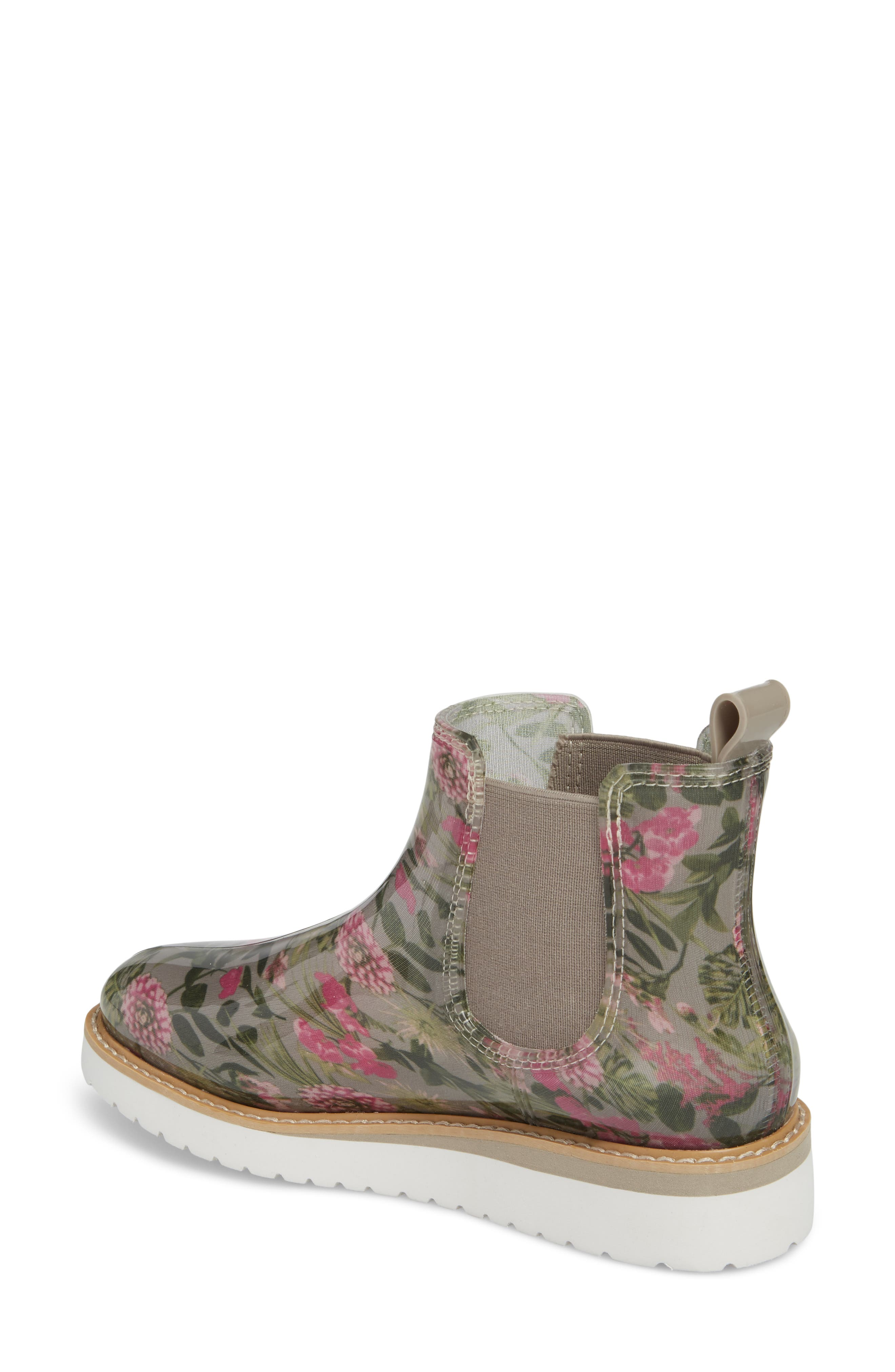 Kensington Chelsea Rain Boot,                             Alternate thumbnail 2, color,                             Tropical Floral