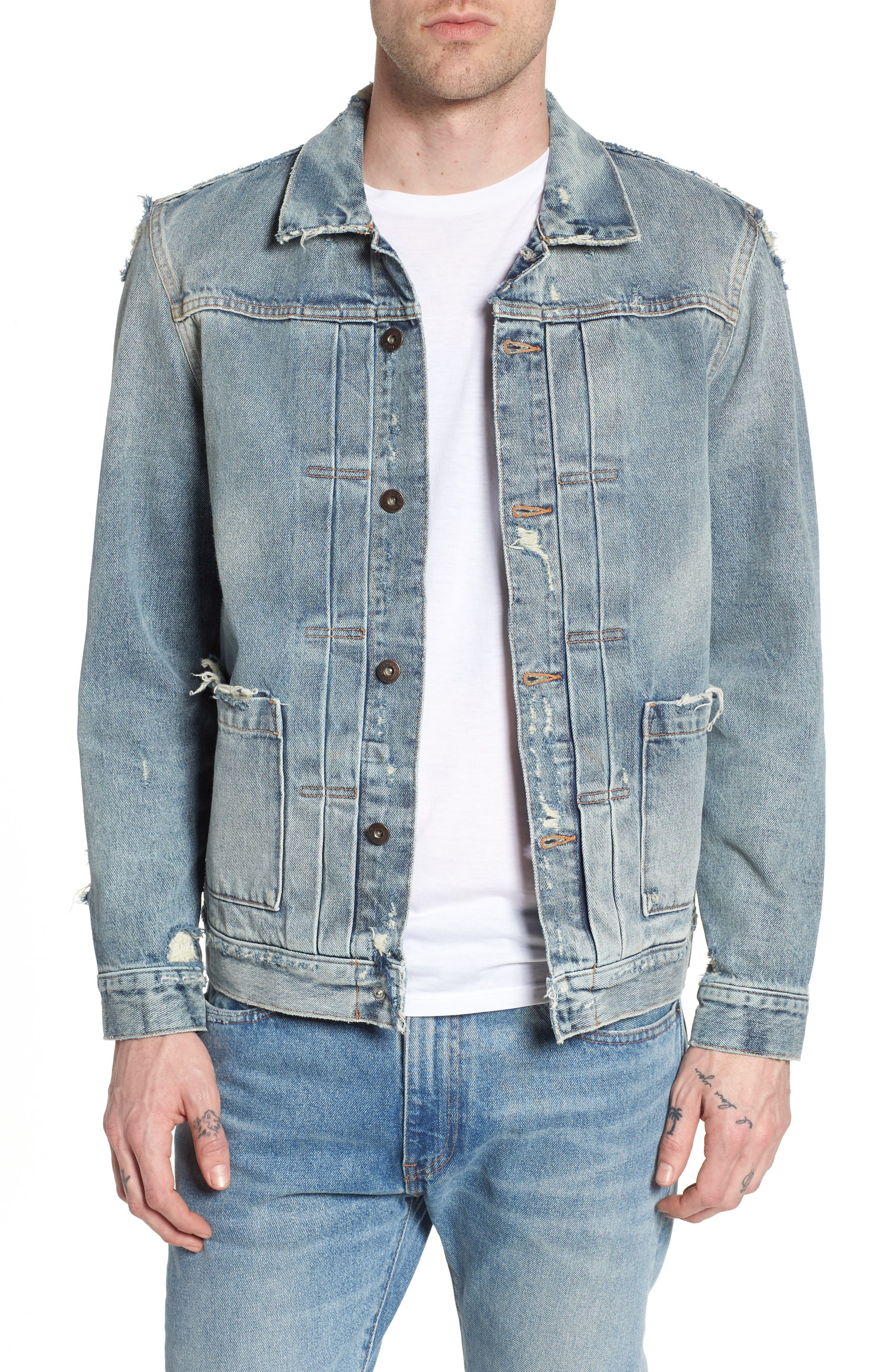 Type II Standard Fit Jacket,                             Main thumbnail 1, color,                             Trashed