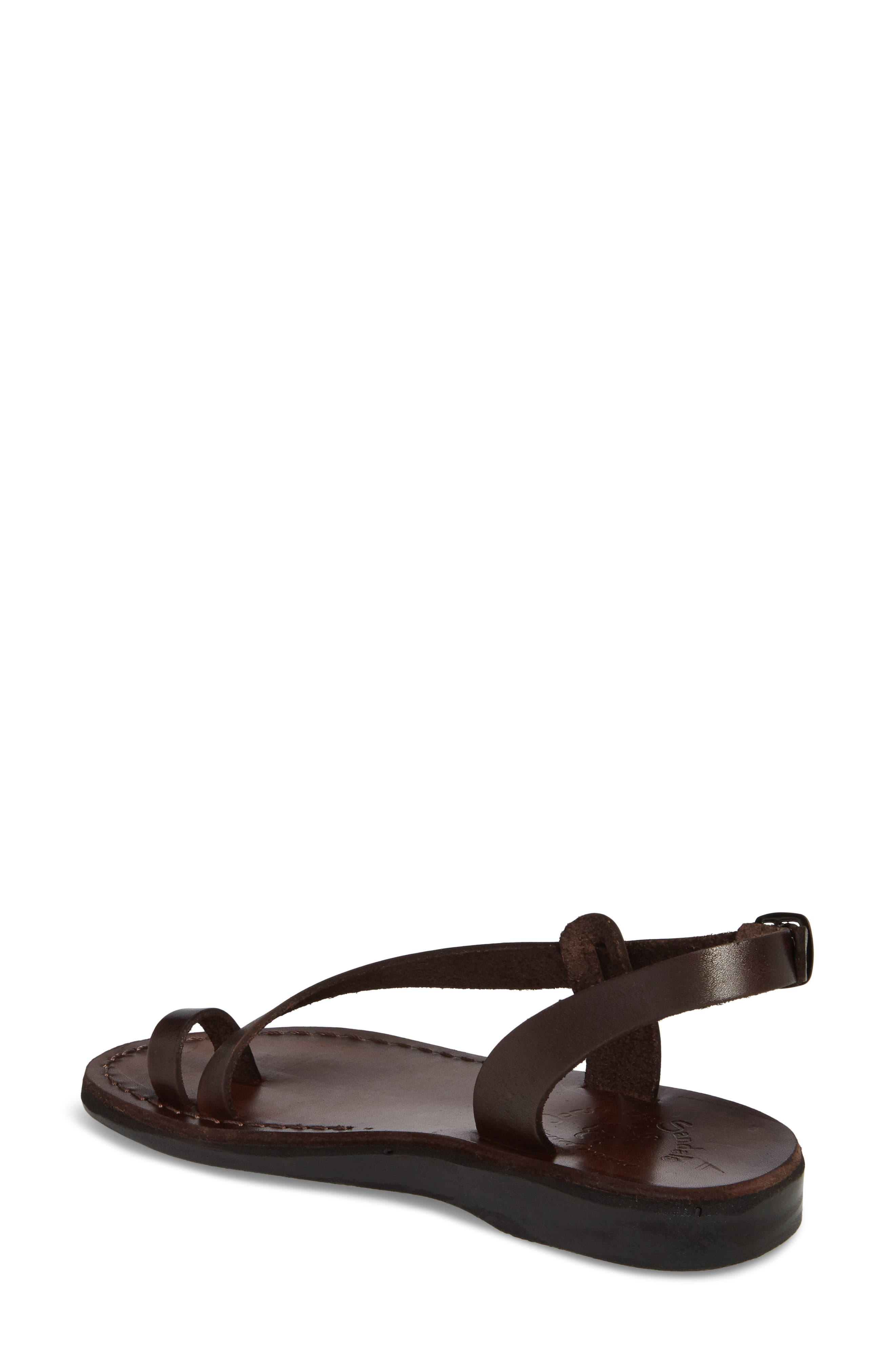 Mia Sandal,                             Alternate thumbnail 2, color,                             Brown Leather
