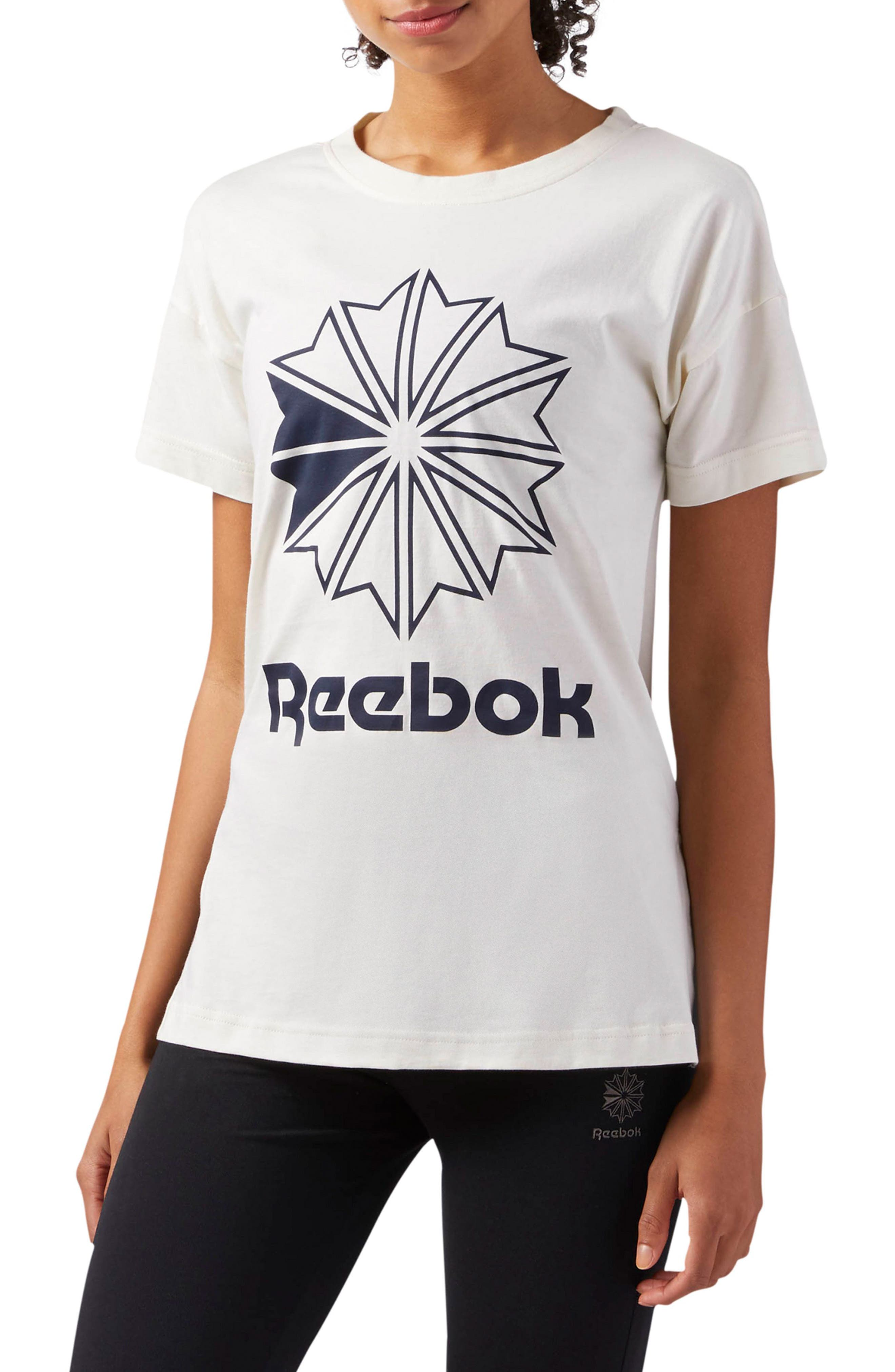Graphic Logo Tee,                             Main thumbnail 1, color,                             Classic White S17-R