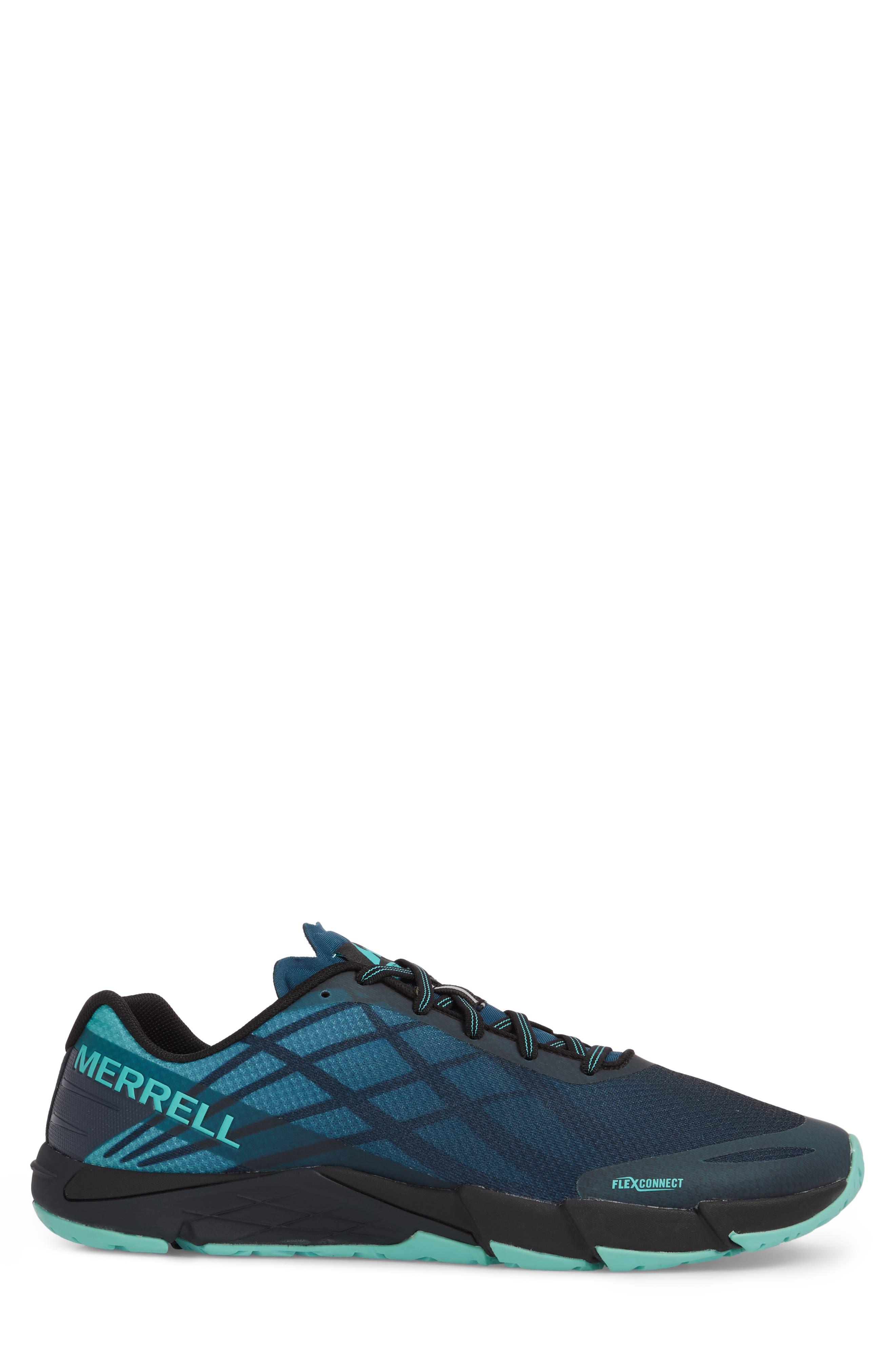 Bare Access Flex Running Shoe,                             Alternate thumbnail 3, color,                             Legion Blue
