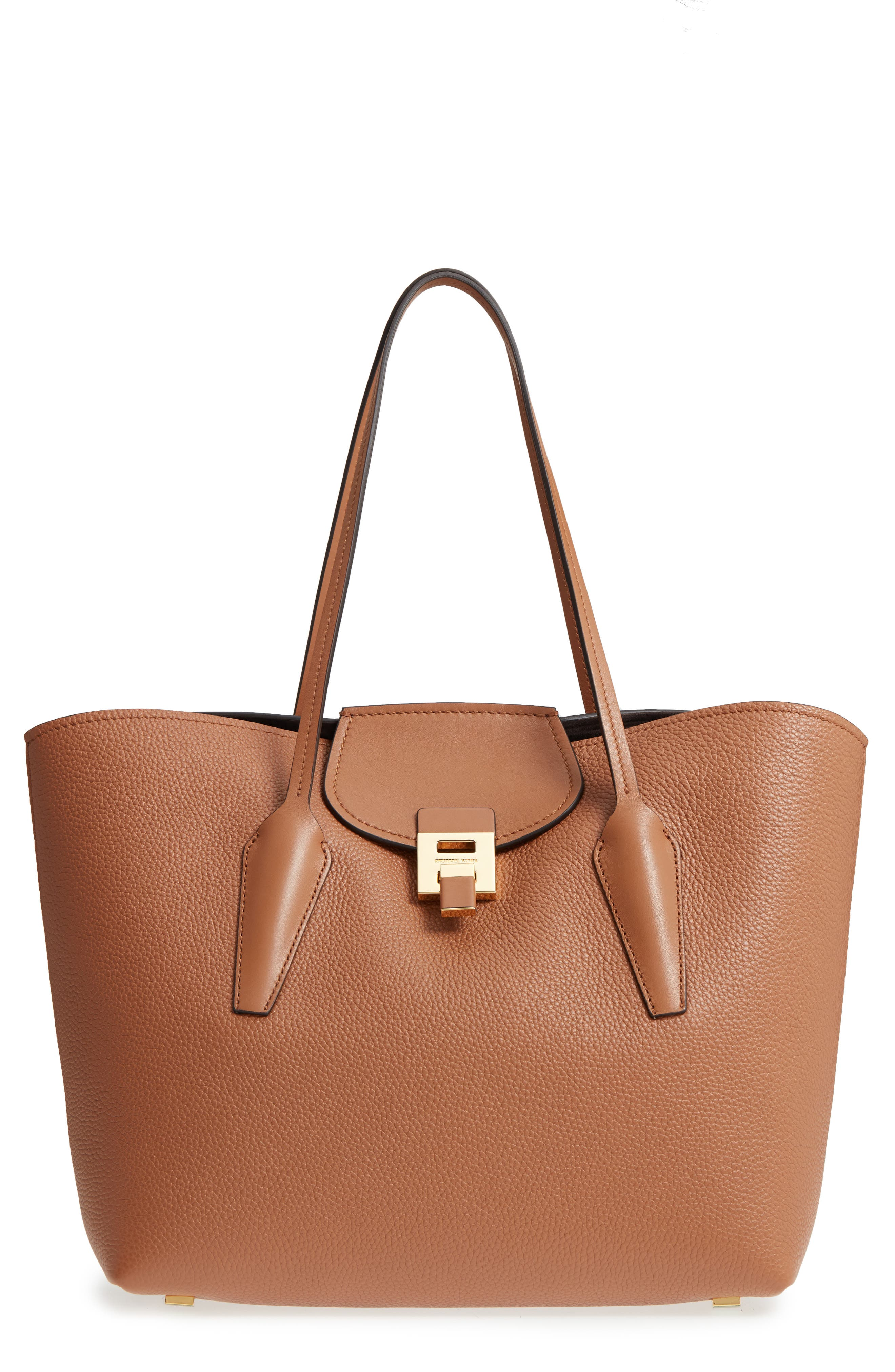 Michael Kors Large Bancroft Leather Tote