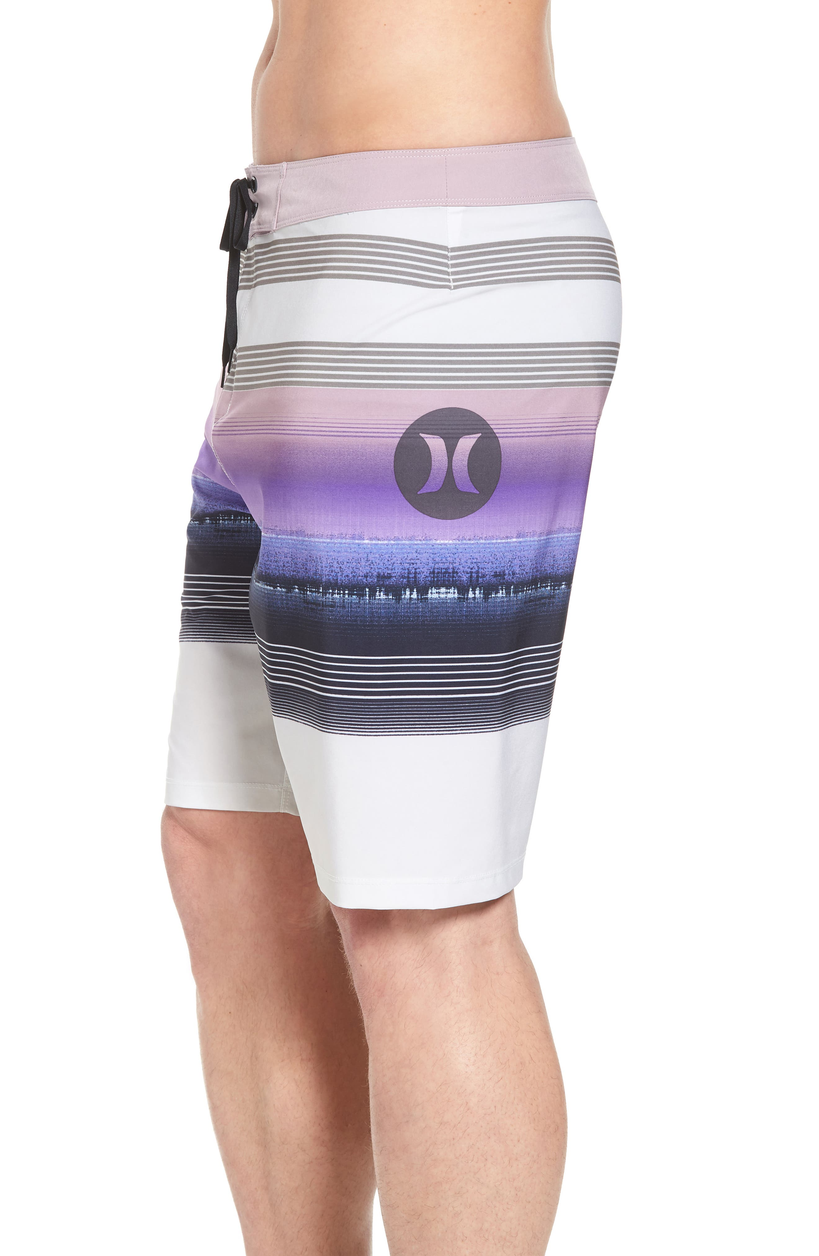 Phantom Gaviota Board Shorts,                             Alternate thumbnail 4, color,                             Light Bone
