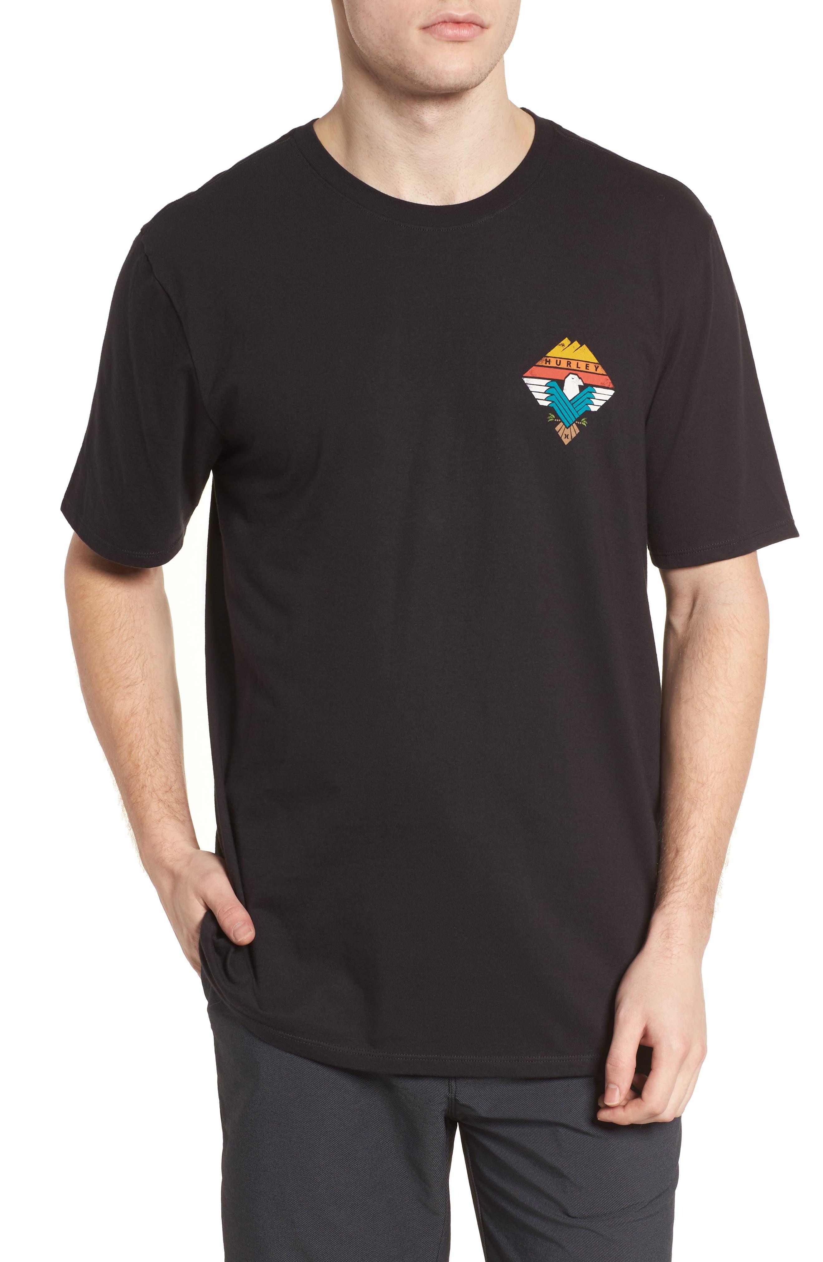 Surfin' Bird T-Shirt,                             Main thumbnail 1, color,                             Black