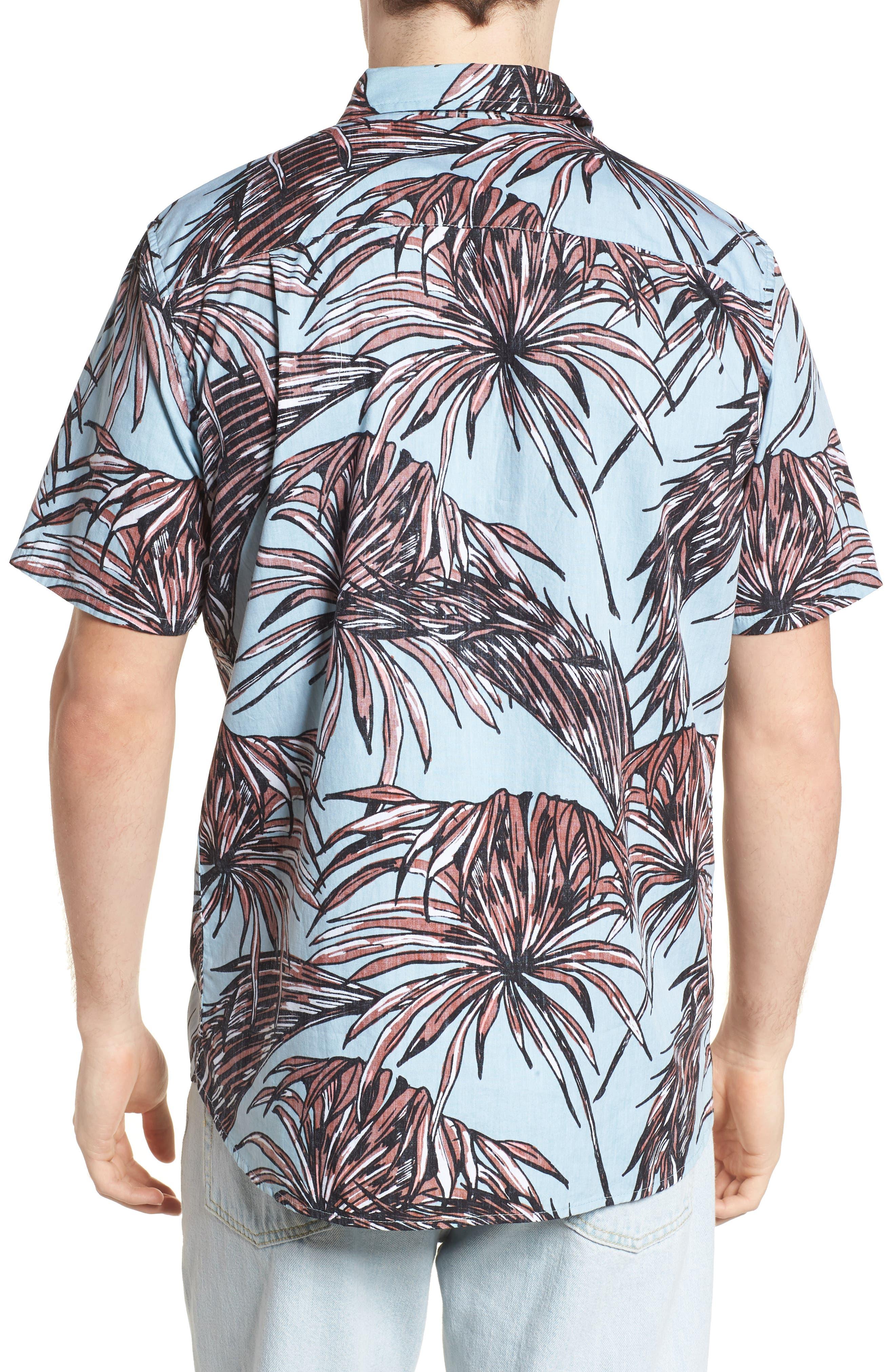 Koko Shirt,                             Alternate thumbnail 3, color,                             Ocean Bliss