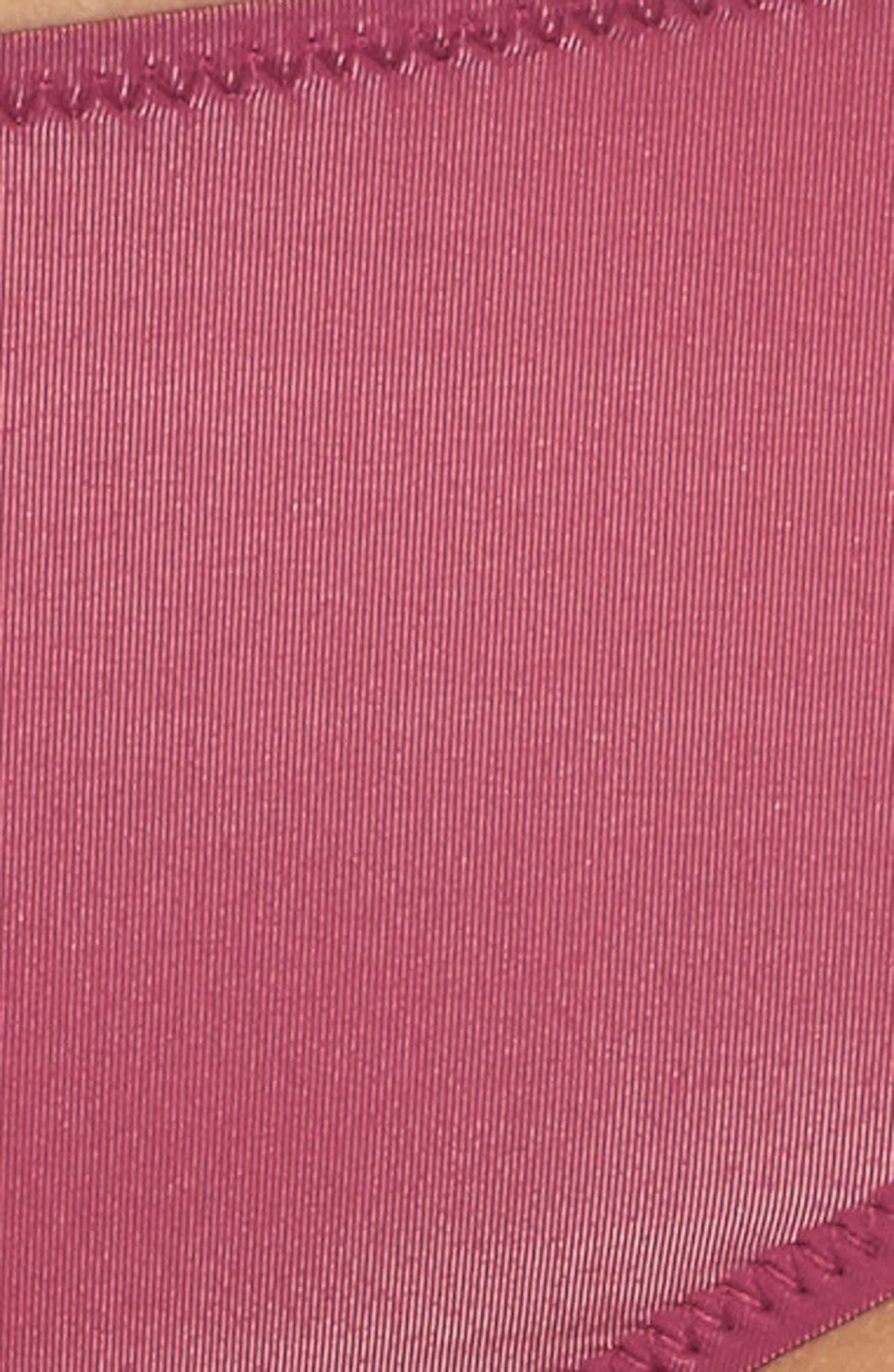 Sheer Mesh Panties,                             Alternate thumbnail 9, color,                             Aubergine