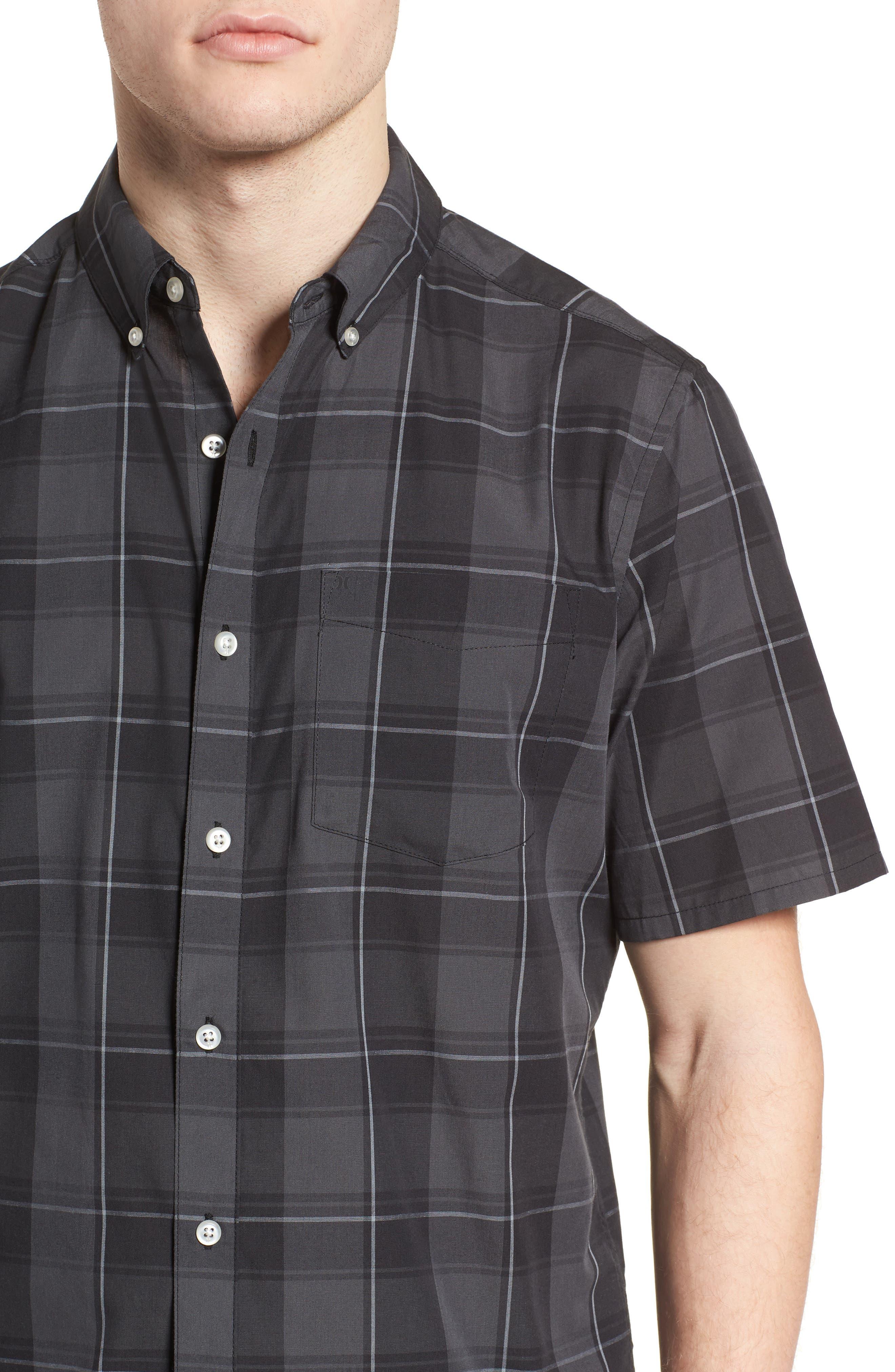 Dri-FIT Castell Shirt,                             Alternate thumbnail 2, color,                             Black