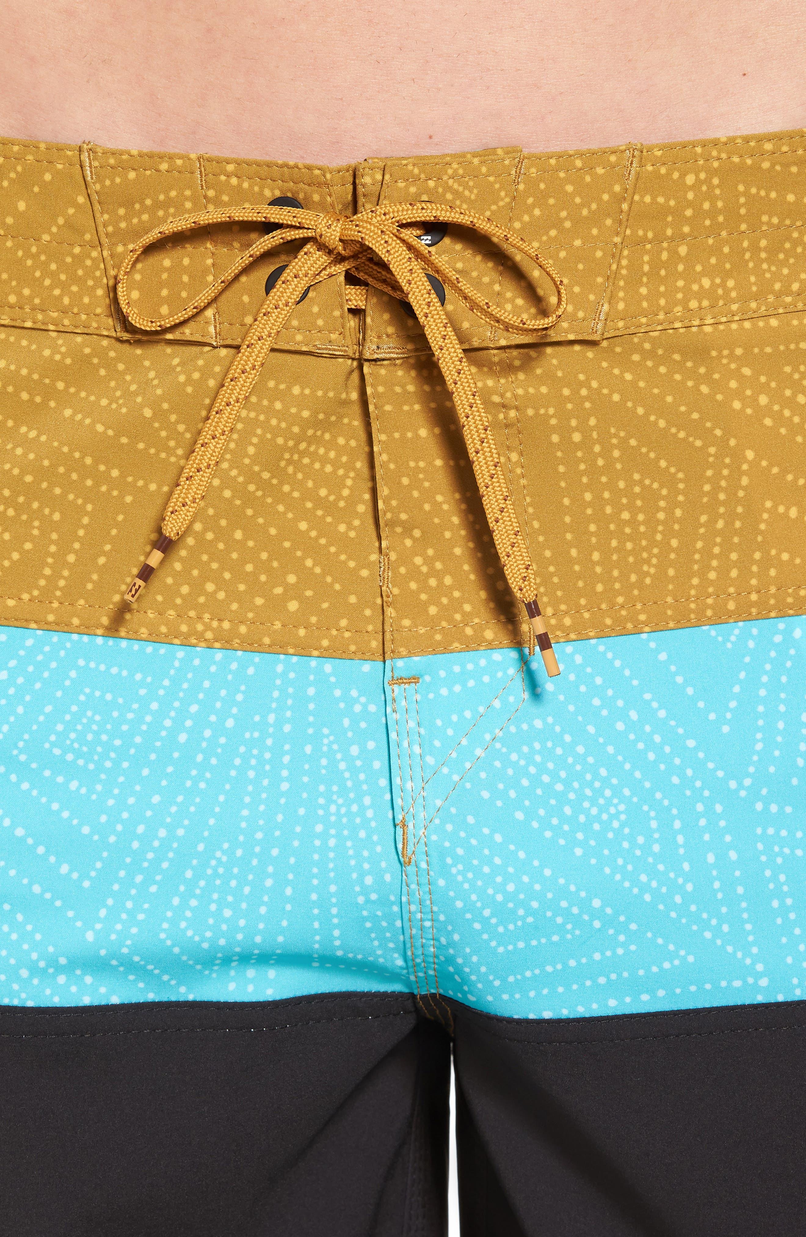 Tribong X Board Shorts,                             Alternate thumbnail 4, color,                             Aqua