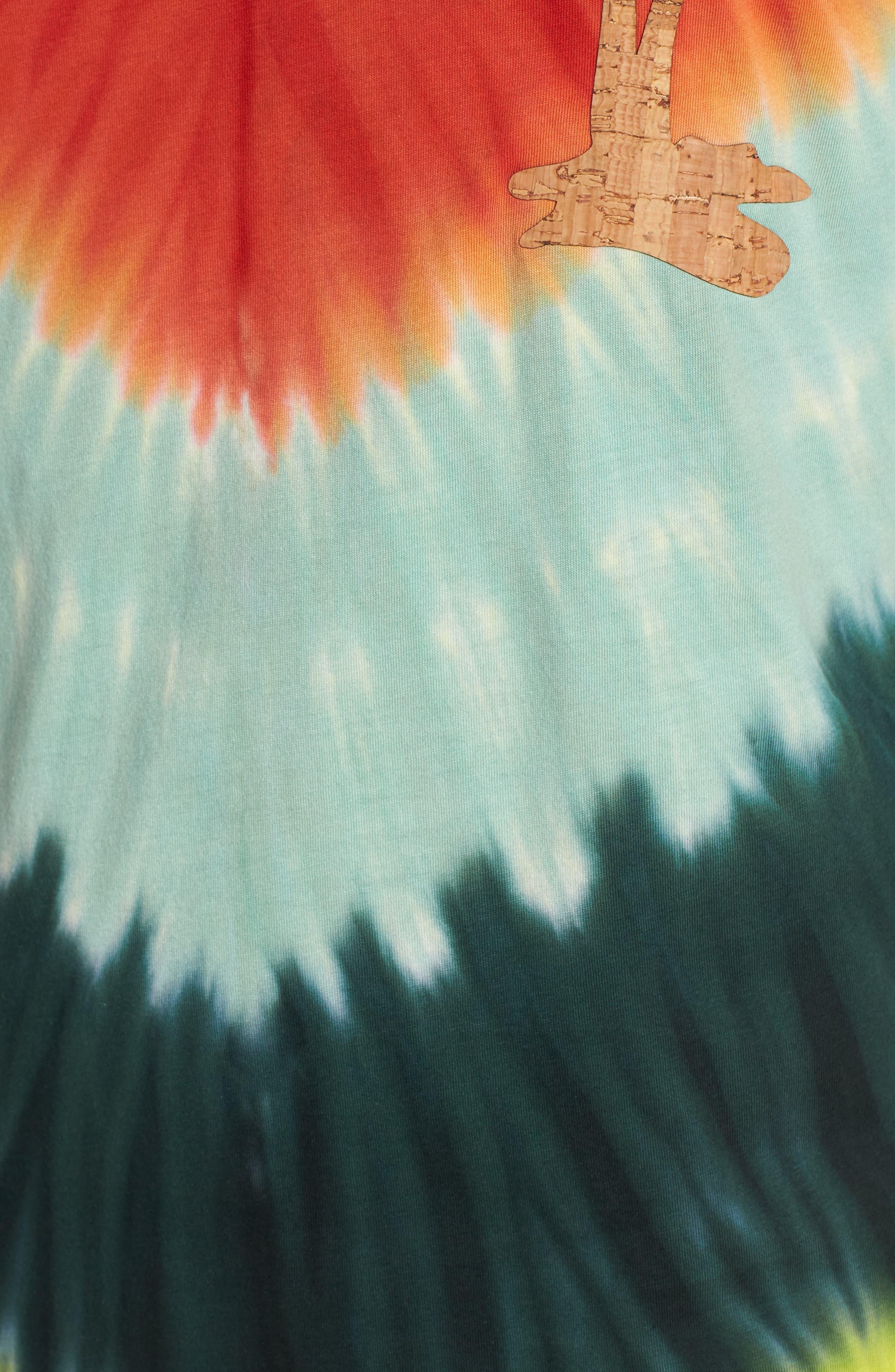 Tye Dye Graphic T-Shirt,                             Alternate thumbnail 5, color,                             Multi Color