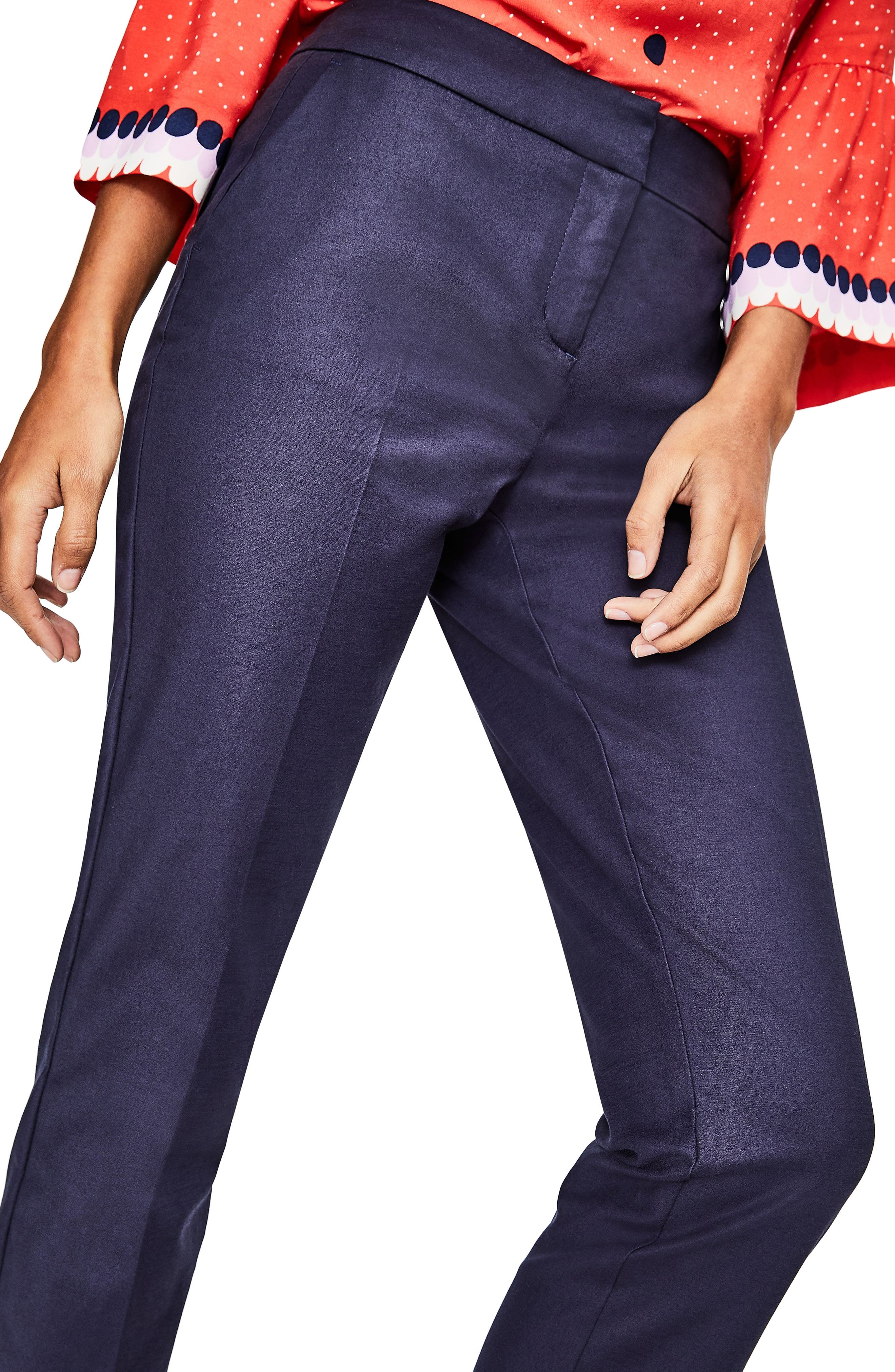 Alternate Image 4  - Boden Richmond Stretch Cotton Trousers